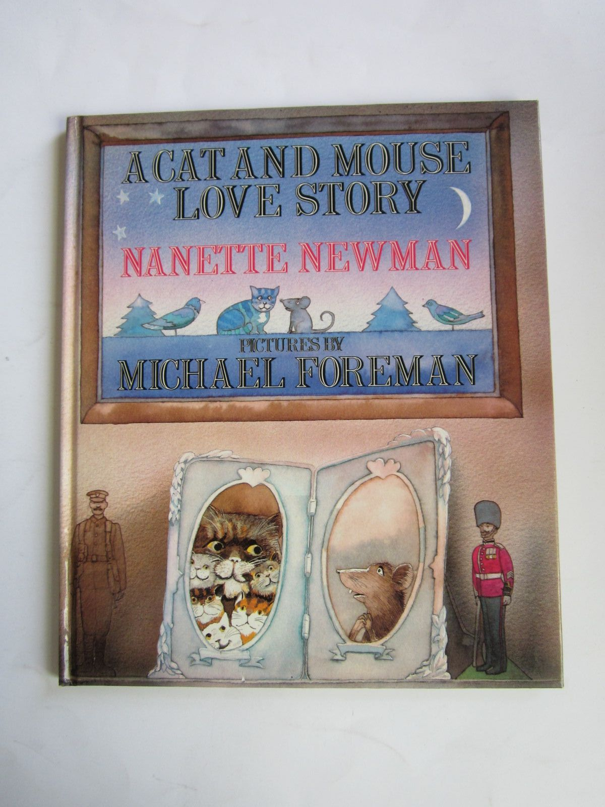 Photo of A CAT AND MOUSE LOVE STORY written by Newman, Nanette illustrated by Foreman, Michael published by Heinemann Quixote Press (STOCK CODE: 1501089)  for sale by Stella & Rose's Books