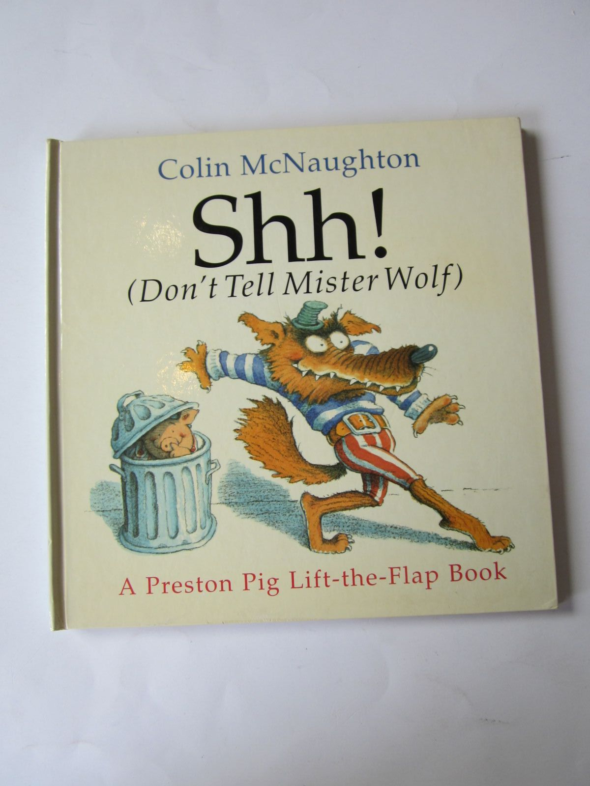 Photo of SHH! (DON'T TELL MISTER WOLF) written by McNaughton, Colin illustrated by McNaughton, Colin published by Andersen Press (STOCK CODE: 1501117)  for sale by Stella & Rose's Books