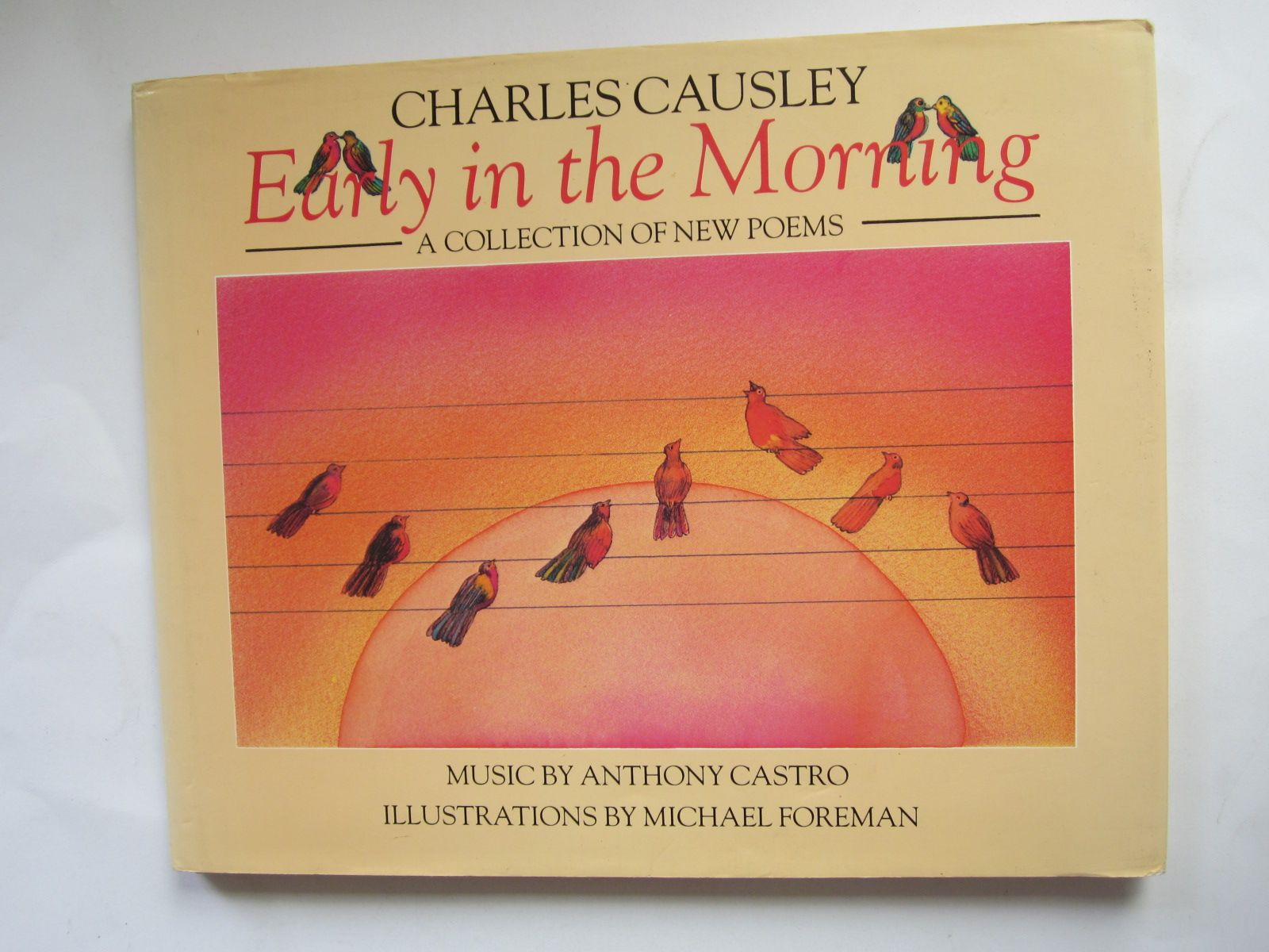 Photo of EARLY IN THE MORNING written by Causley, Charles<br />Castro, Anthony illustrated by Foreman, Michael published by Viking Kestrel (STOCK CODE: 1501204)  for sale by Stella & Rose's Books