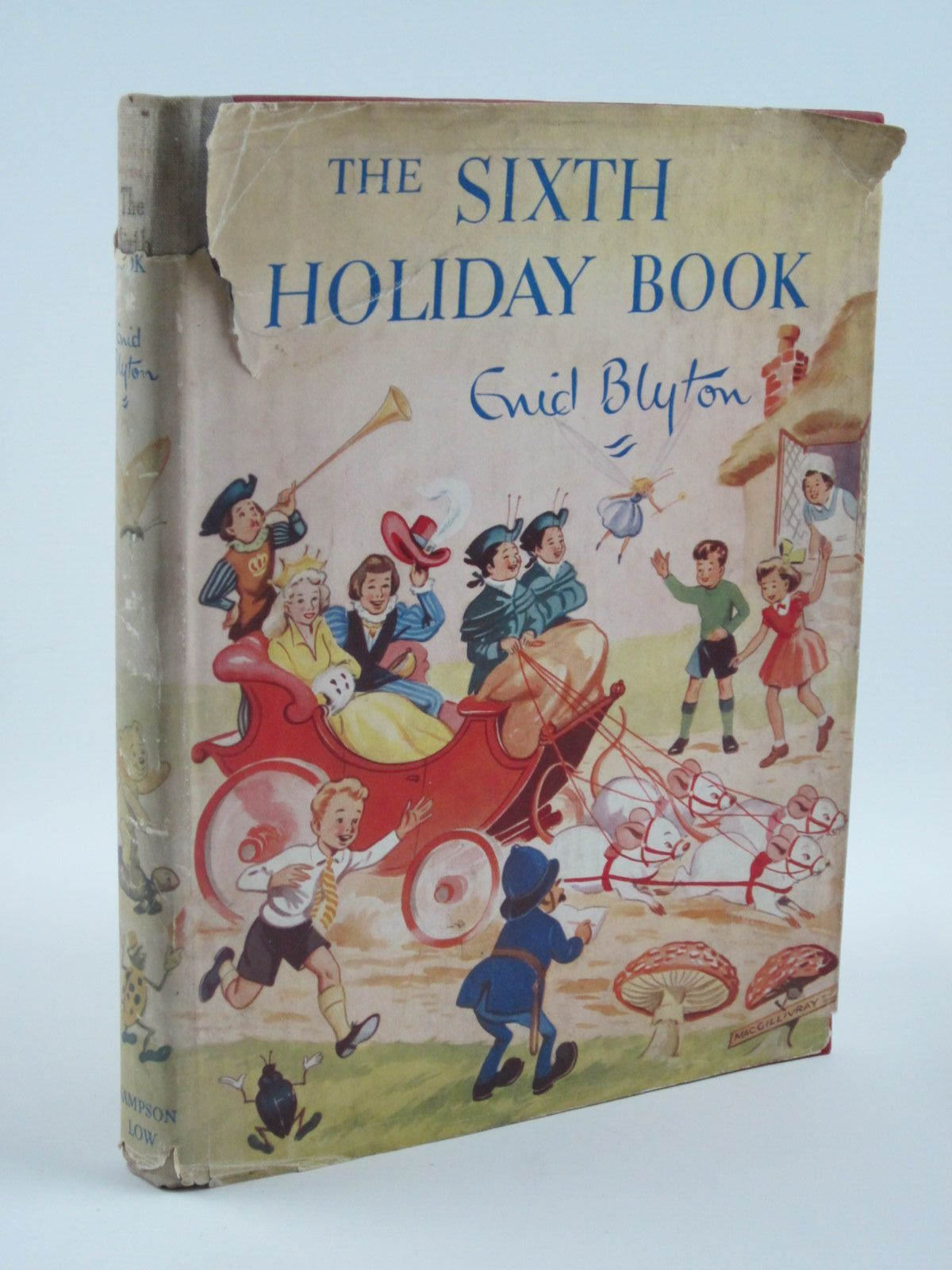 Photo of THE SIXTH HOLIDAY BOOK written by Blyton, Enid illustrated by Steed, Cicely<br />MacGillivray, Robert<br />McGavin, Hilda<br />Sheppard, Raymond<br />et al.,  published by Sampson Low, Marston & Co. Ltd. (STOCK CODE: 1501297)  for sale by Stella & Rose's Books