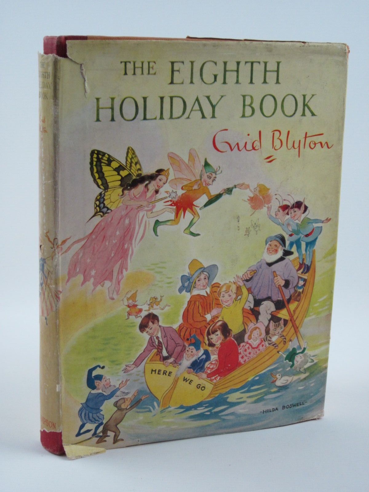 Photo of THE EIGHTH HOLIDAY BOOK written by Blyton, Enid illustrated by Dawson, E.M.<br />Lodge, Grace<br />et al.,  published by Sampson Low, Marston & Co. Ltd. (STOCK CODE: 1501299)  for sale by Stella & Rose's Books