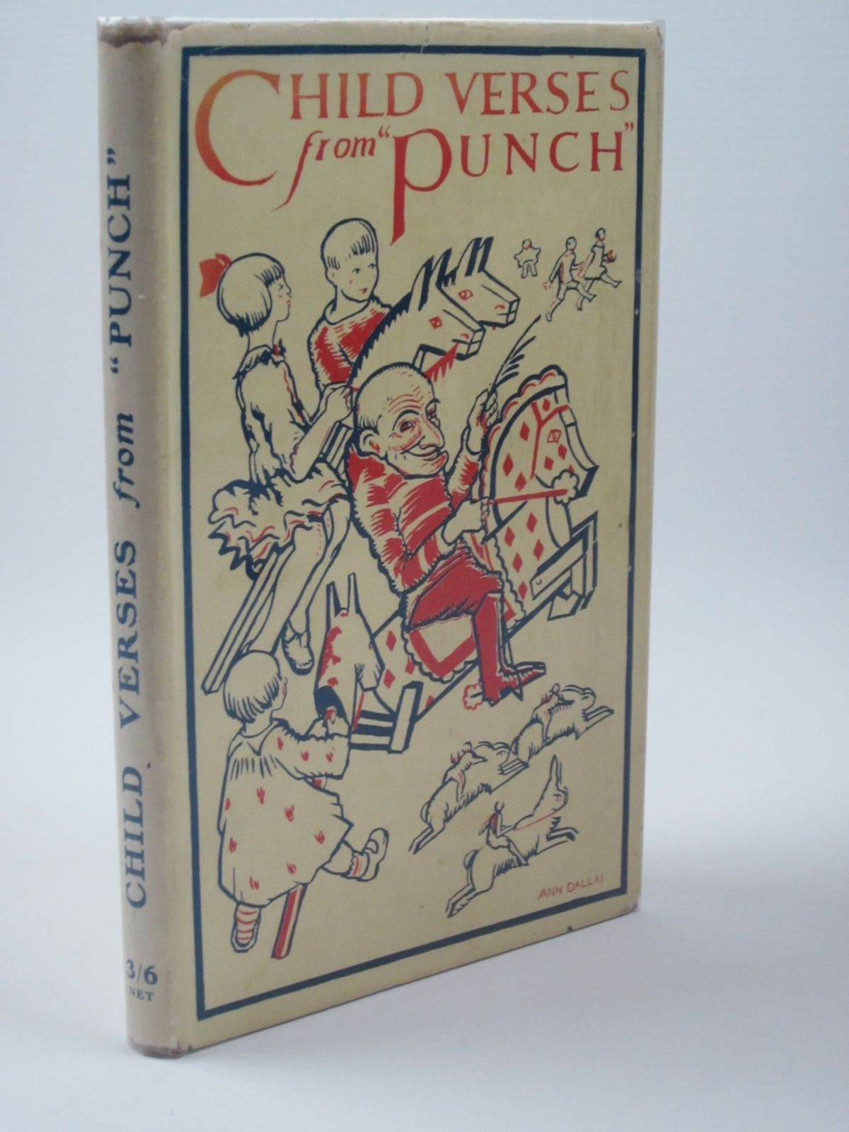 Photo of CHILD VERSES FROM 'PUNCH' written by Greenland, George<br />Farjeon, Eleanor<br />Talbot, Ethel<br />et al, illustrated by Chase, Phyllis published by J. Saville & Co. Ltd. (STOCK CODE: 1501308)  for sale by Stella & Rose's Books
