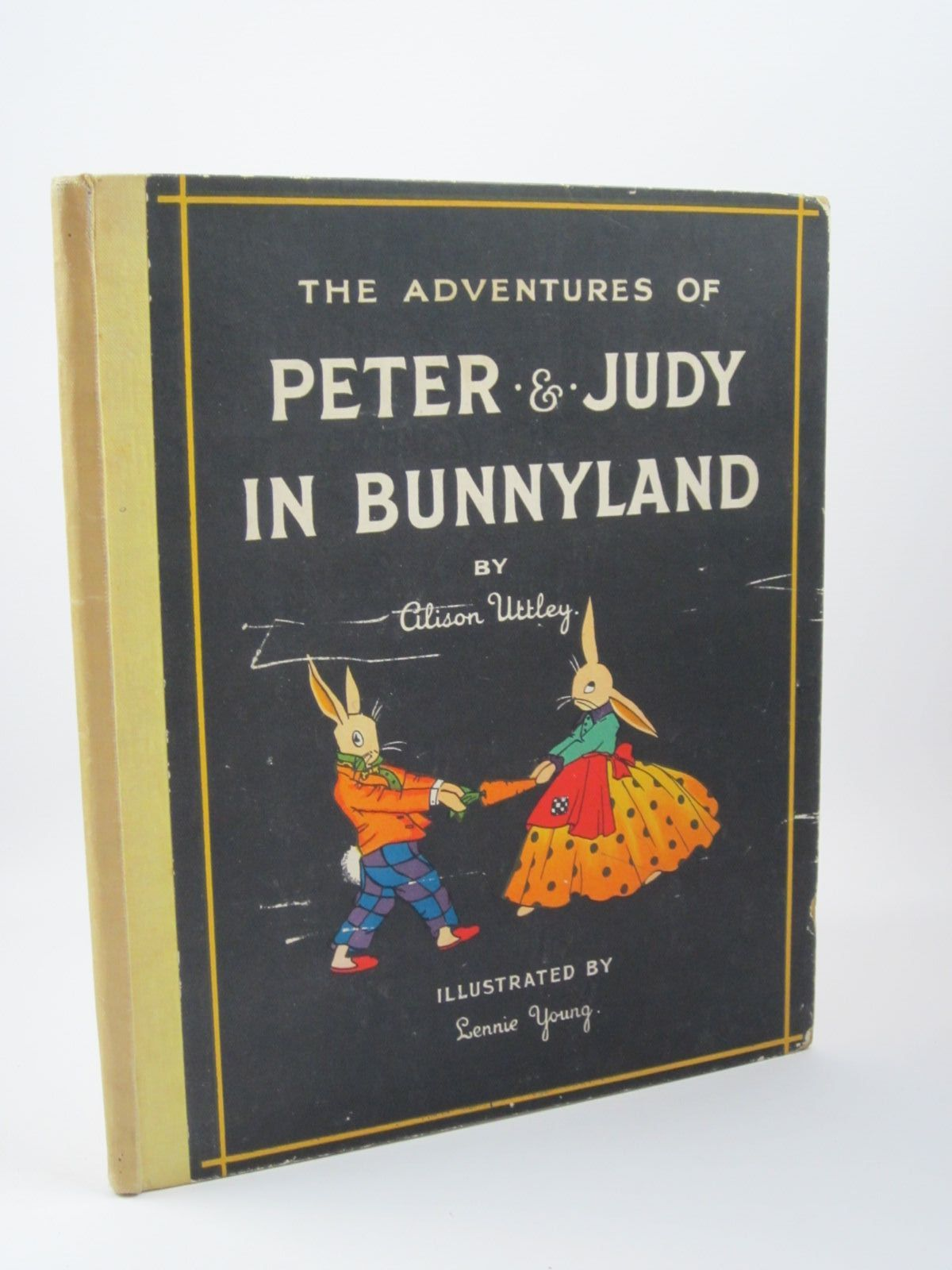 Photo of THE ADVENTURES OF PETER AND JUDY IN BUNNYLAND written by Uttley, Alison illustrated by Young, Lennie published by Collins (STOCK CODE: 1501331)  for sale by Stella & Rose's Books