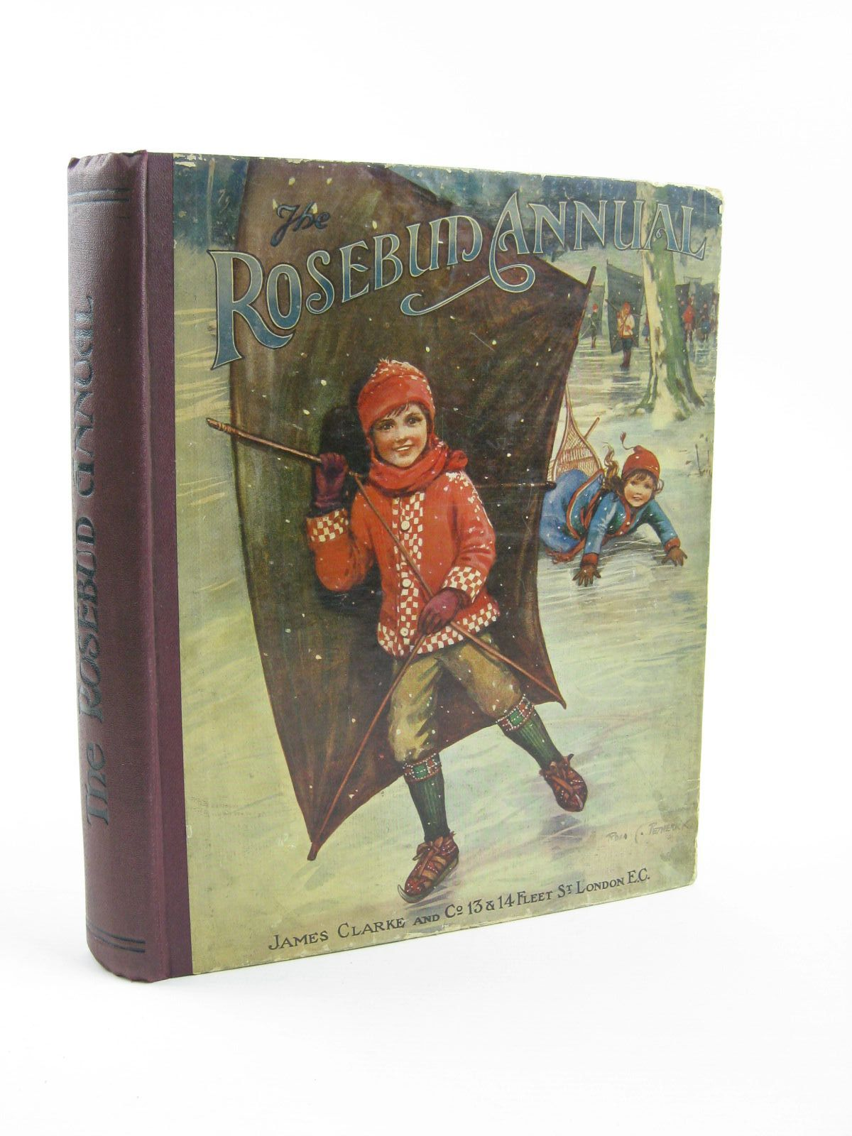 Photo of THE ROSEBUD ANNUAL 1917 illustrated by Wain, Louis<br />Blomfield, E.<br />Sidney, G<br />et al.,  published by James Clarke & Co. (STOCK CODE: 1501369)  for sale by Stella & Rose's Books
