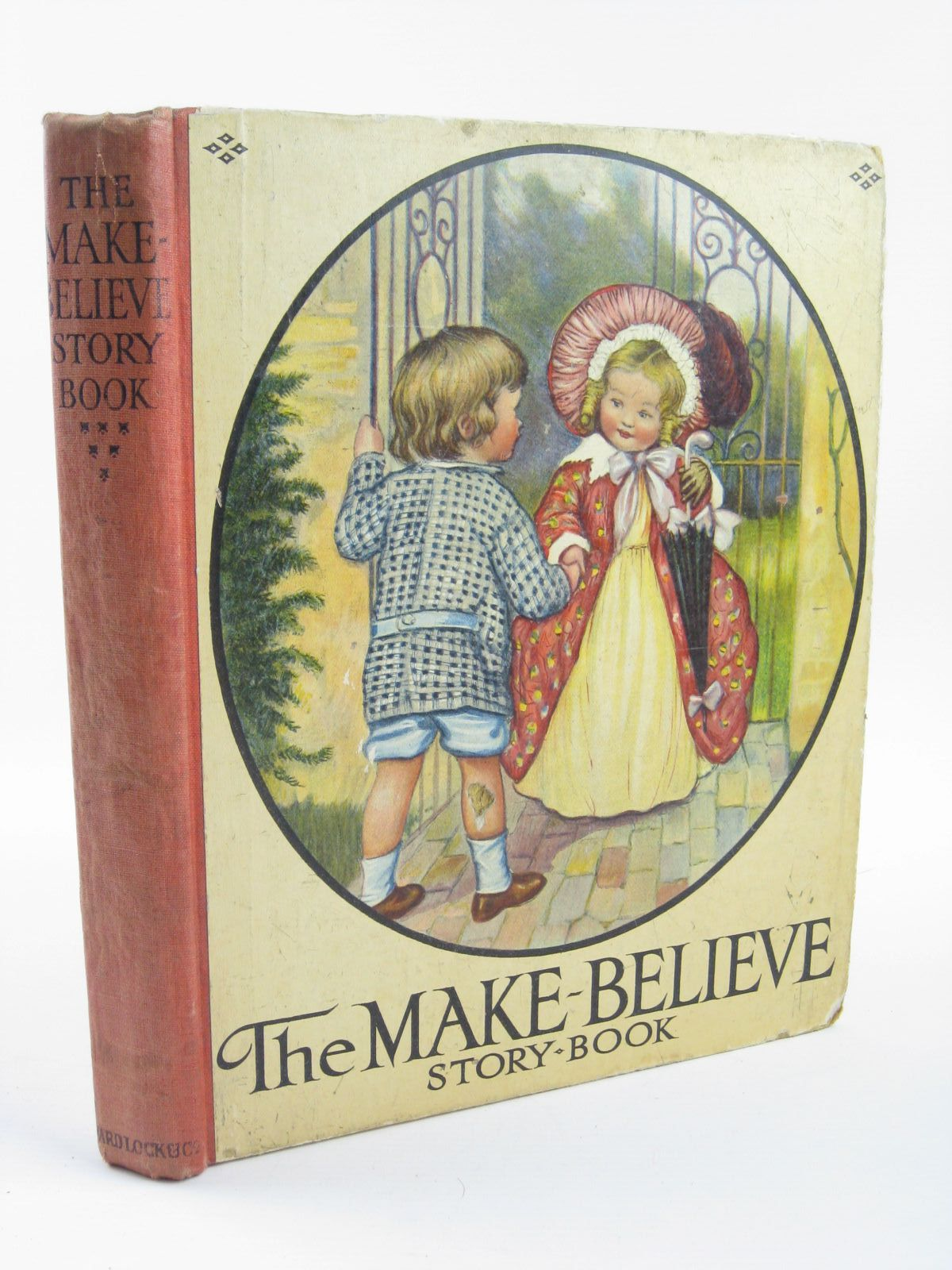 Photo of THE MAKE-BELIEVE STORY BOOK written by Peacocke, Isabel M.<br />Leigh, Felix<br />et al,  illustrated by Wain, Louis<br />Anderson, Anne<br />Robinson, W. Heath published by Ward, Lock & Co. Ltd. (STOCK CODE: 1501390)  for sale by Stella & Rose's Books