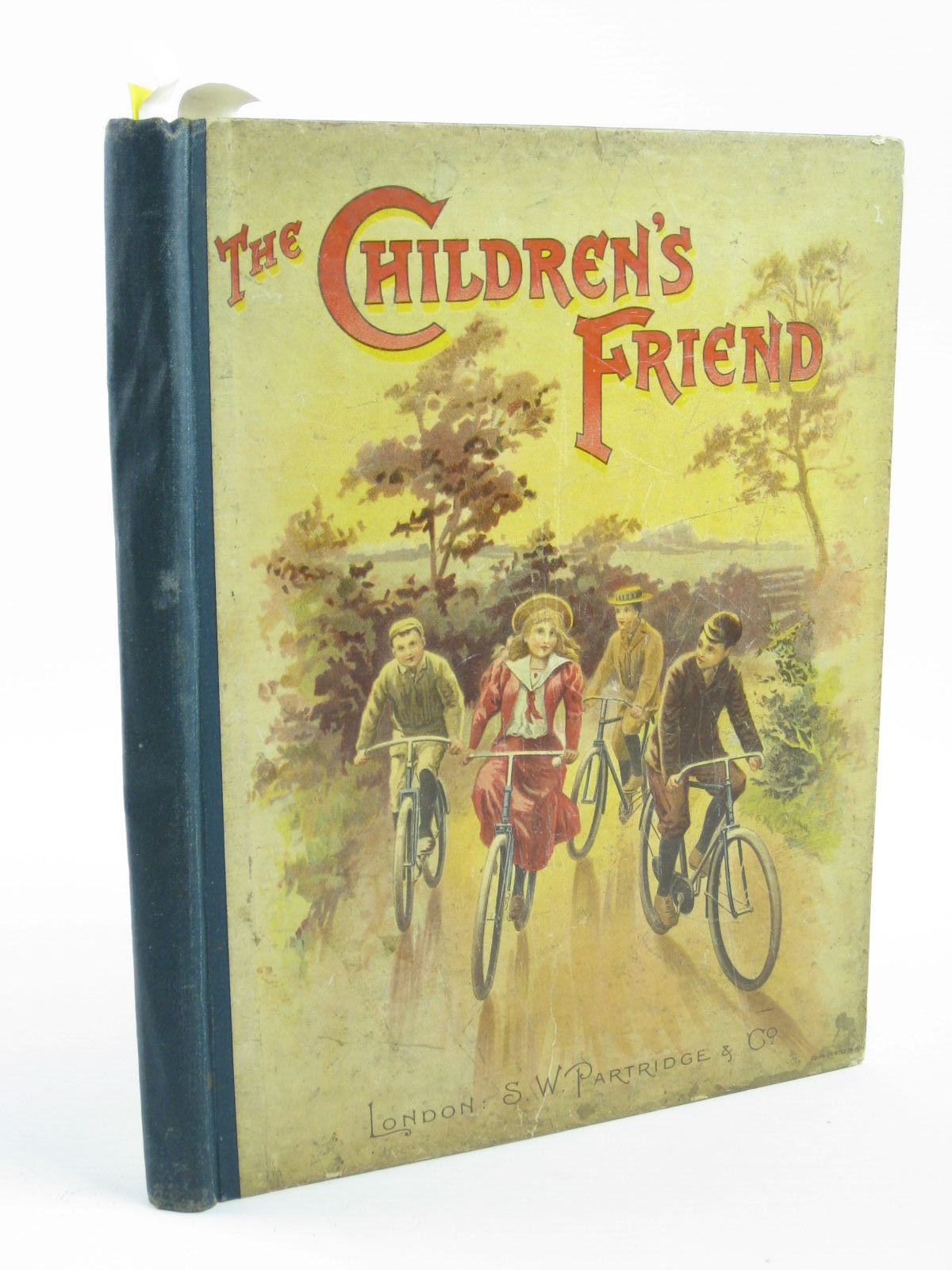 Photo of THE CHILDREN'S FRIEND VOLUME XXXVIII - 1898 written by Waterworth, E.M.<br />Bingham, Clifton<br />Rogers, Eva C.<br />Chappell, Jennie<br />et al,  illustrated by Wain, Louis<br />Rainey, W.<br />Staniland, C.J.<br />et al.,  published by S.W. Partridge & Co. (STOCK CODE: 1501397)  for sale by Stella & Rose's Books