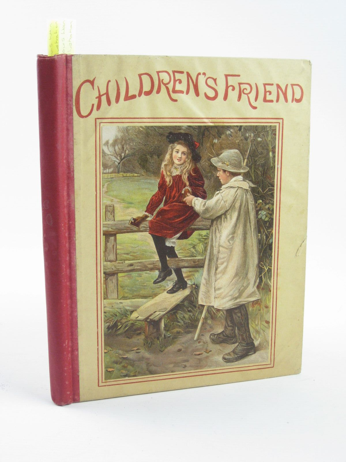 Photo of THE CHILDREN'S FRIEND VOLUME XXXVI - 1896 written by Potter, F. Scarlett<br />Waterworth, E.M.<br />et al,  illustrated by Groome, W.H.C.<br />Wain, Louis<br />Rainey, W.<br />et al.,  published by S.W. Partridge & Co. (STOCK CODE: 1501399)  for sale by Stella & Rose's Books