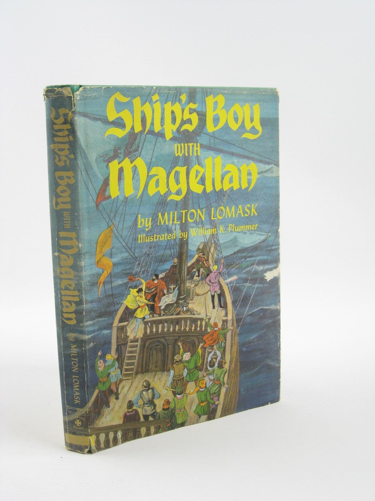 Photo of SHIP'S BOY WITH MAGELLAN written by Lomask, Milton illustrated by Plummer, W. Kirtman published by Doubleday & Company, Inc. (STOCK CODE: 1501410)  for sale by Stella & Rose's Books
