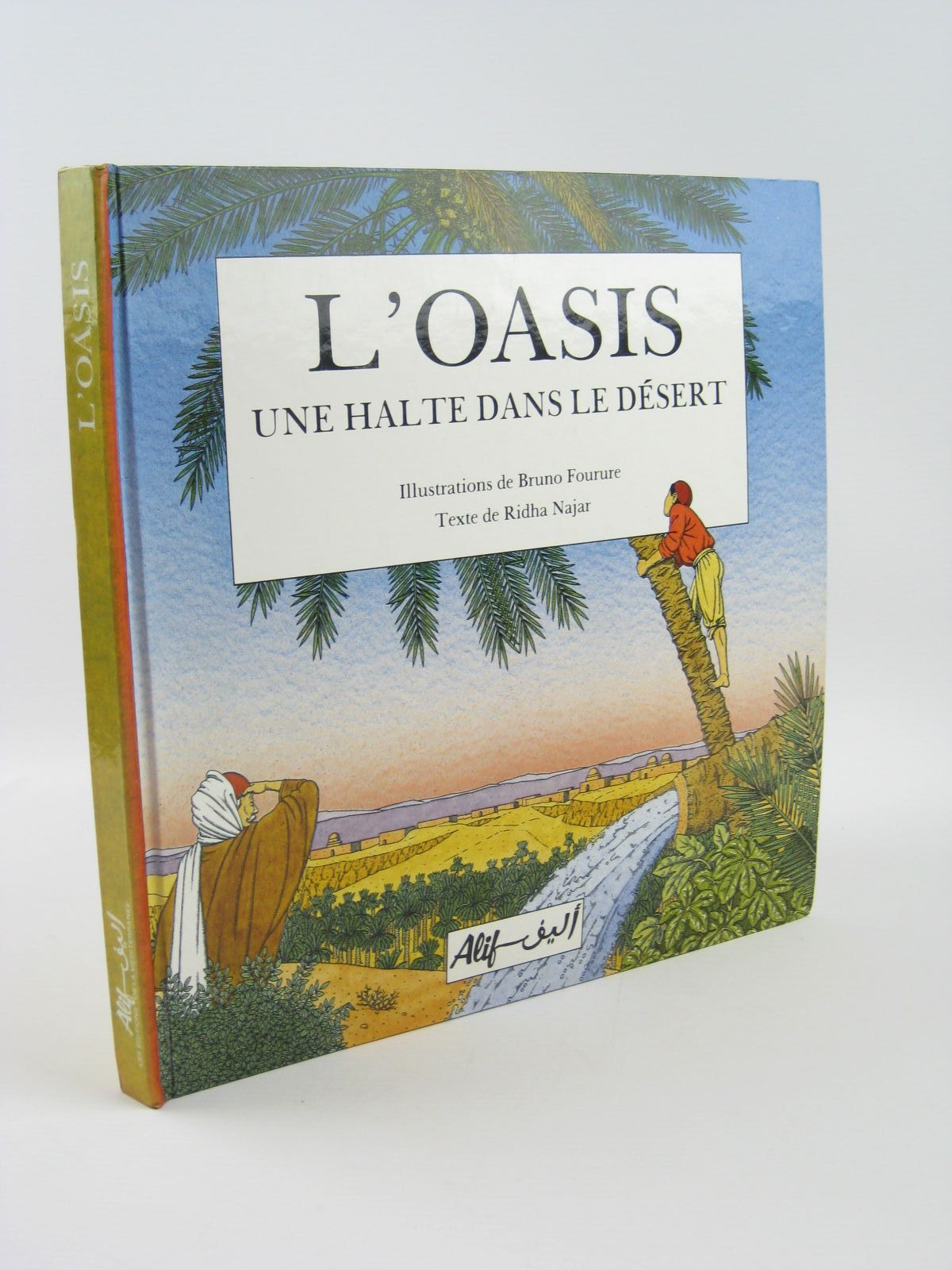 Photo of L'OASIS UNE HALTE DANS LE DESERT written by Najar, Ridha illustrated by Fourure, Bruno published by Alif (STOCK CODE: 1501494)  for sale by Stella & Rose's Books