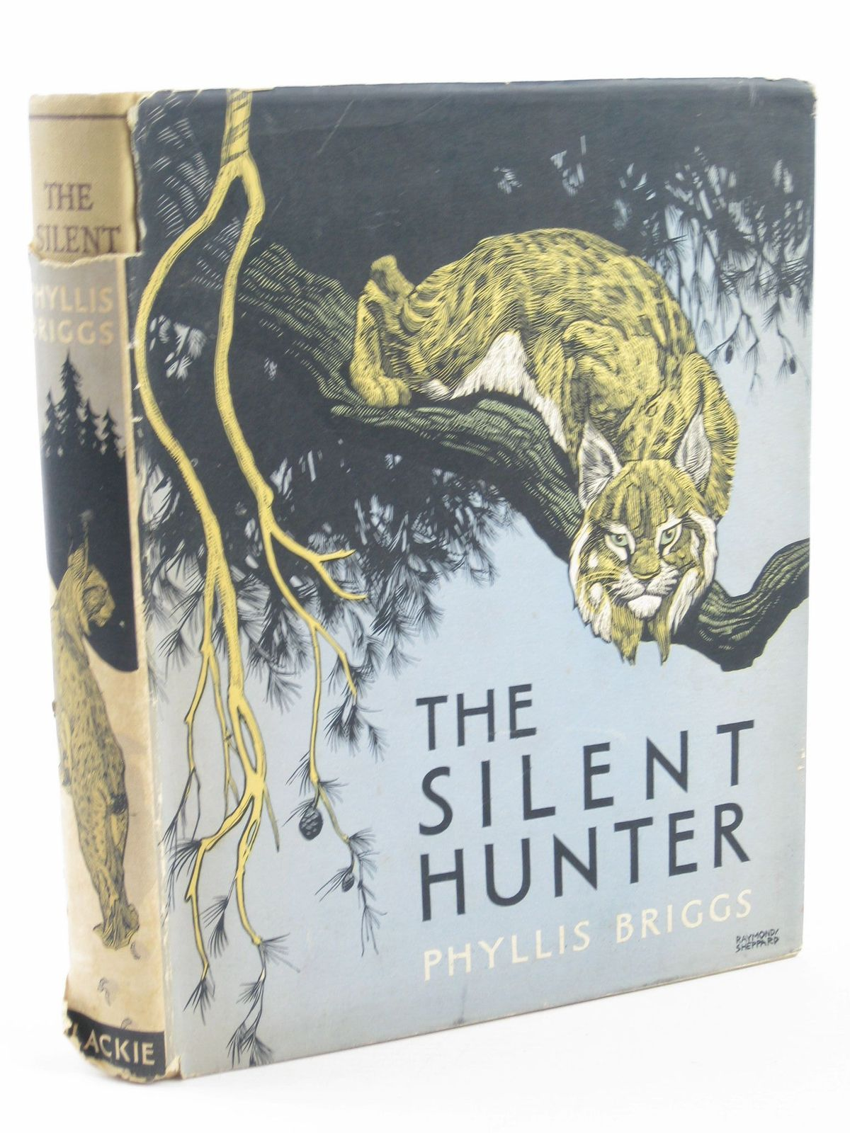 Photo of THE SILENT HUNTER written by Briggs, Phyllis illustrated by Sheppard, Raymond published by Blackie & Son Ltd. (STOCK CODE: 1501551)  for sale by Stella & Rose's Books