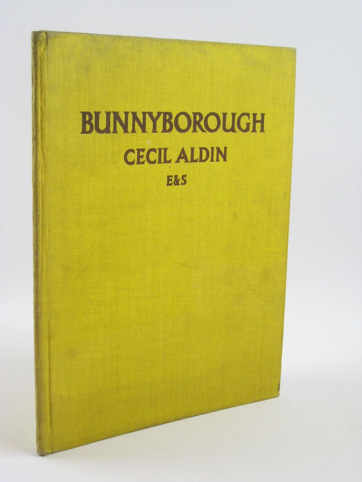 Photo of BUNNYBOROUGH written by Aldin, Cecil illustrated by Aldin, Cecil published by Eyre & Spottiswoode (STOCK CODE: 1501576)  for sale by Stella & Rose's Books