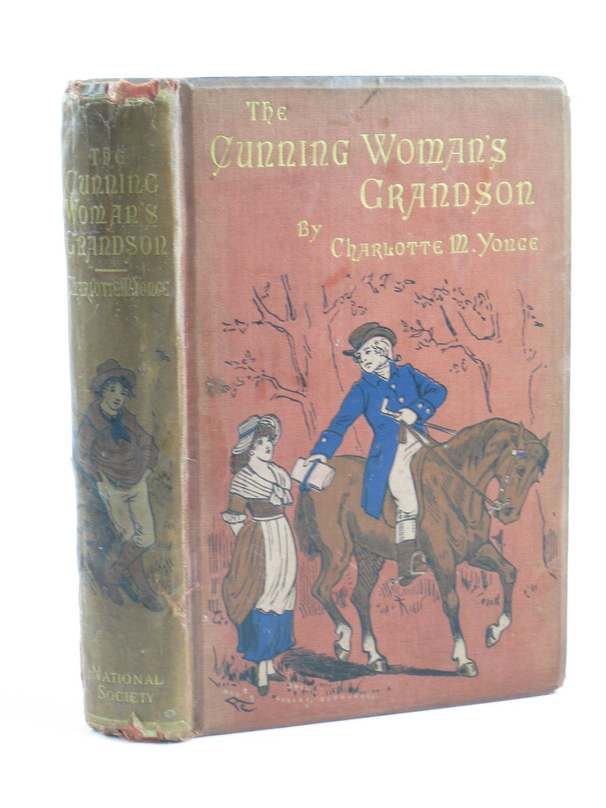 Photo of THE CUNNING WOMAN'S GRANDSON written by Yonge, Charlotte M. illustrated by Stacey, W.S. published by National Society's Depository (STOCK CODE: 1501739)  for sale by Stella & Rose's Books