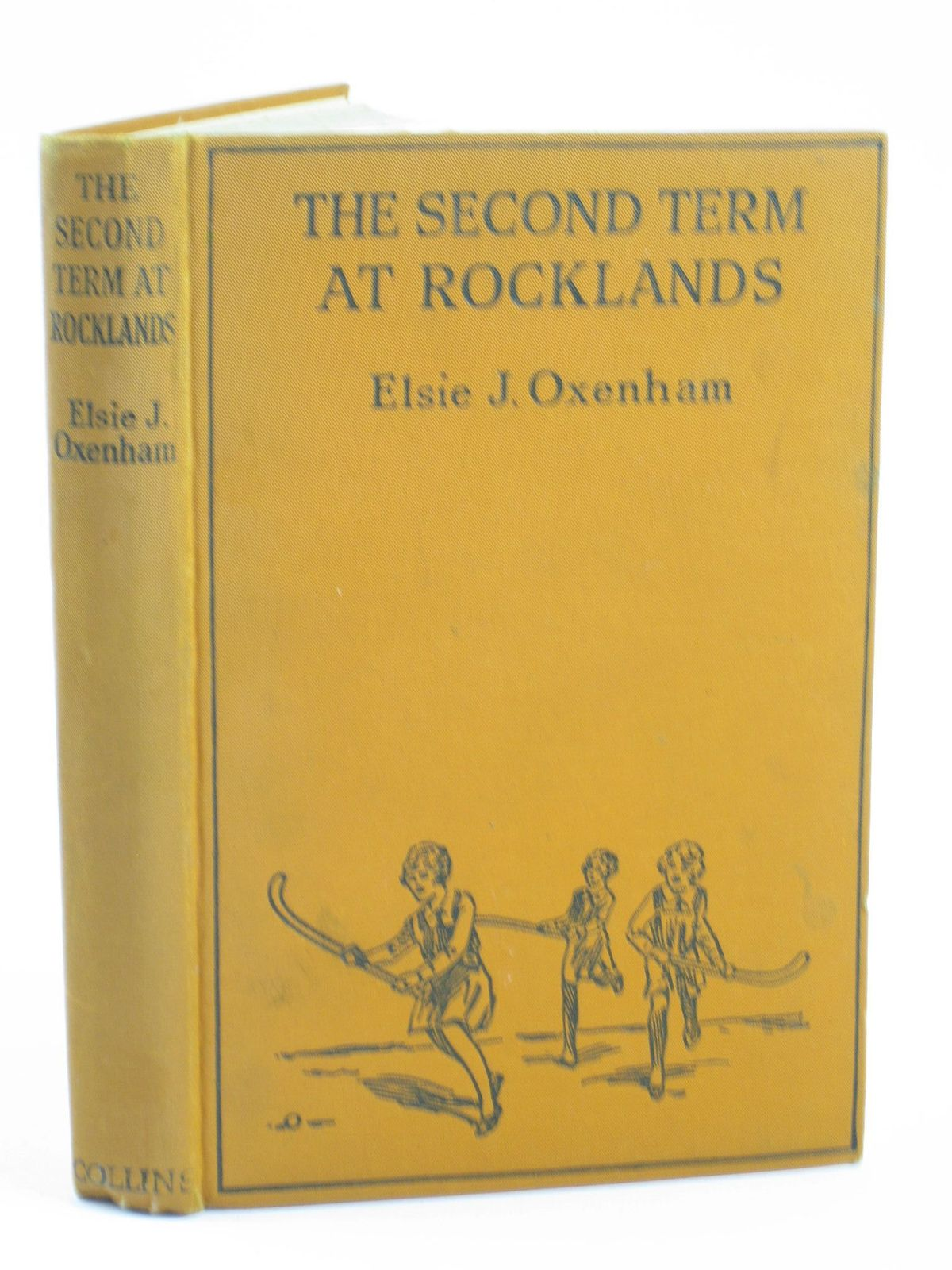 Photo of THE SECOND TERM AT ROCKLANDS written by Oxenham, Elsie J. published by Collins Clear-Type Press (STOCK CODE: 1501786)  for sale by Stella & Rose's Books