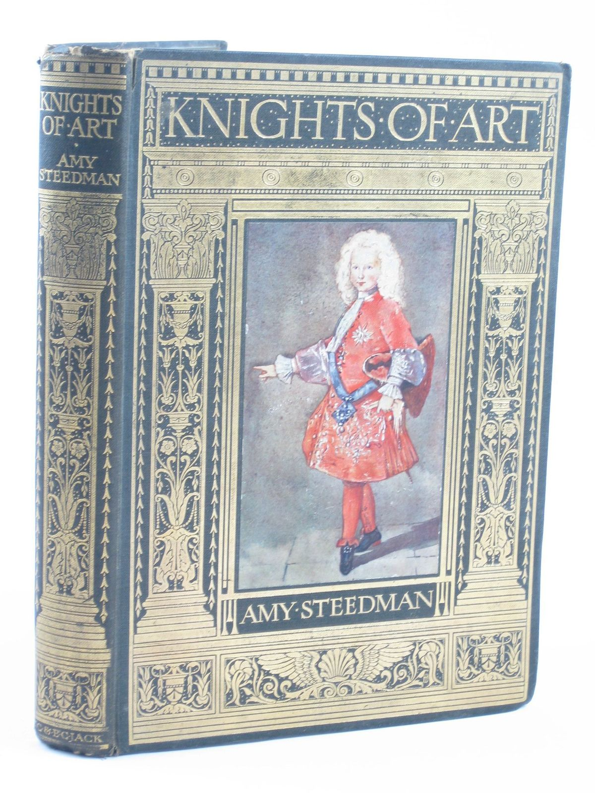 Photo of KNIGHTS OF ART written by Steedman, Amy illustrated by Steedman, Mary published by T.C. & E.C. Jack (STOCK CODE: 1501803)  for sale by Stella & Rose's Books