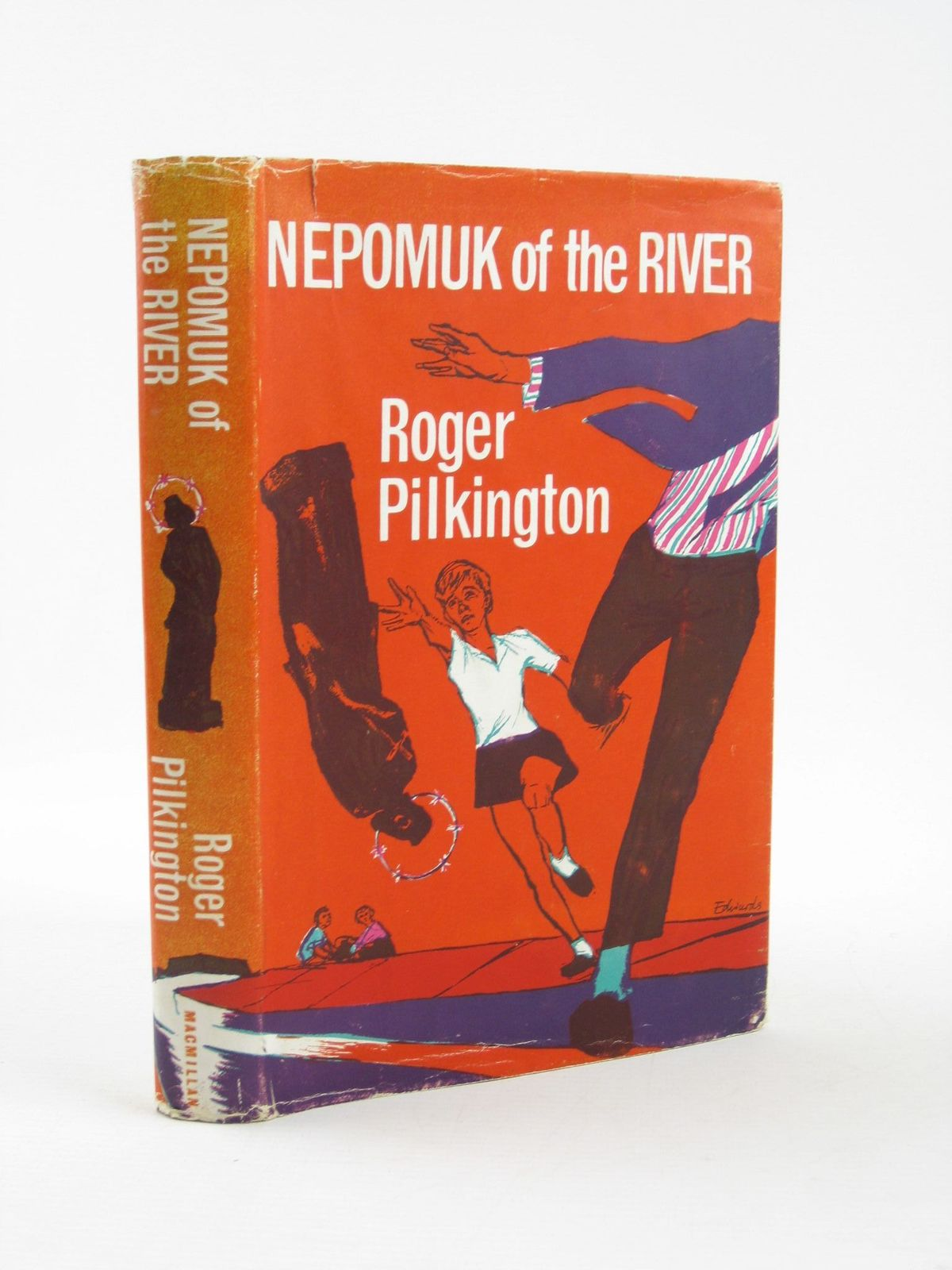 Photo of NEPOMUK OF THE RIVER written by Pilkington, Roger illustrated by Edwards, Peter published by Macmillan & Co. Ltd. (STOCK CODE: 1501863)  for sale by Stella & Rose's Books