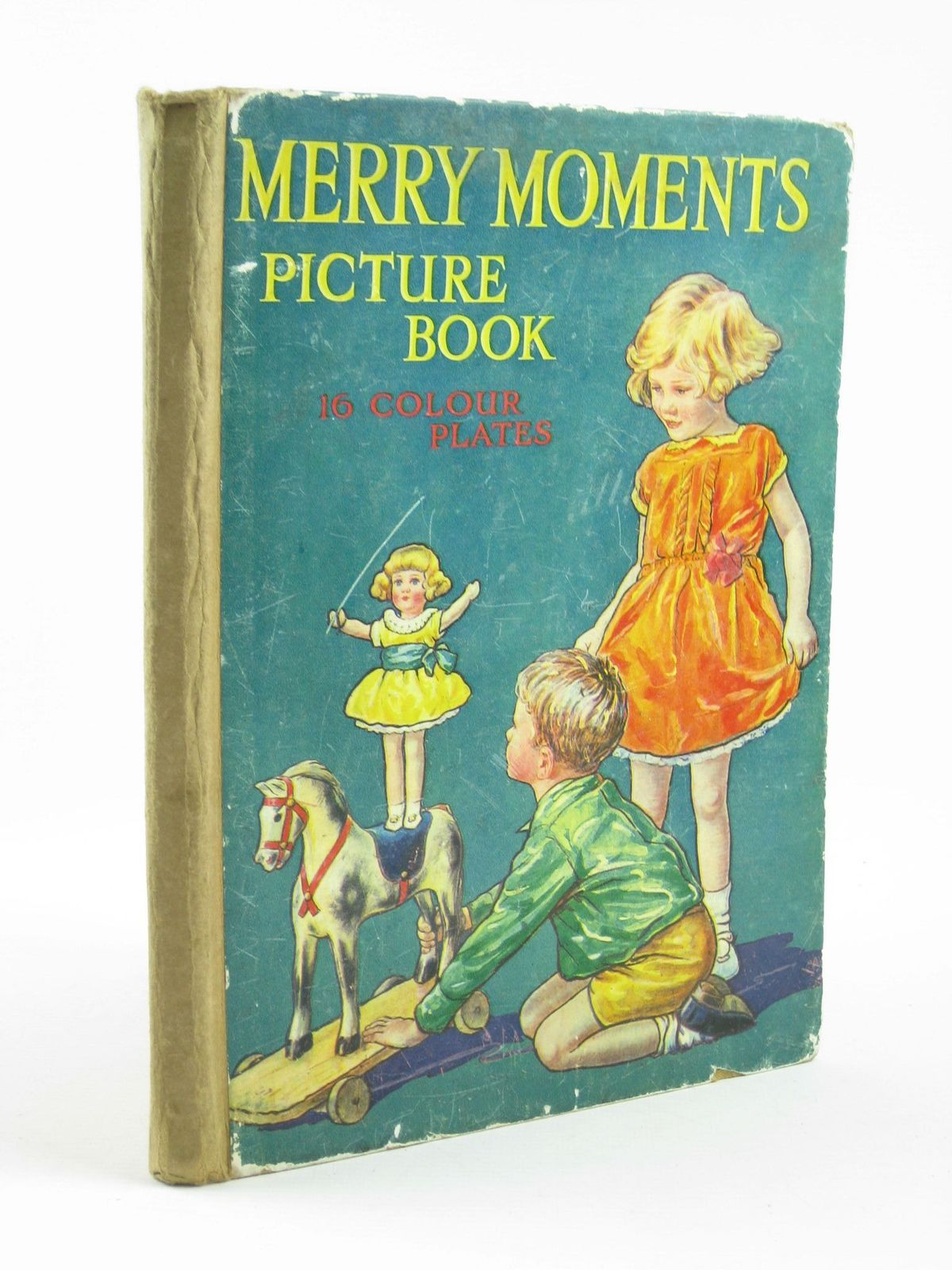 Photo of MERRY MOMENTS PICTURE BOOK illustrated by Marsh Lambert, H.G.C. published by Ward Lock & Co Ltd. (STOCK CODE: 1501870)  for sale by Stella & Rose's Books