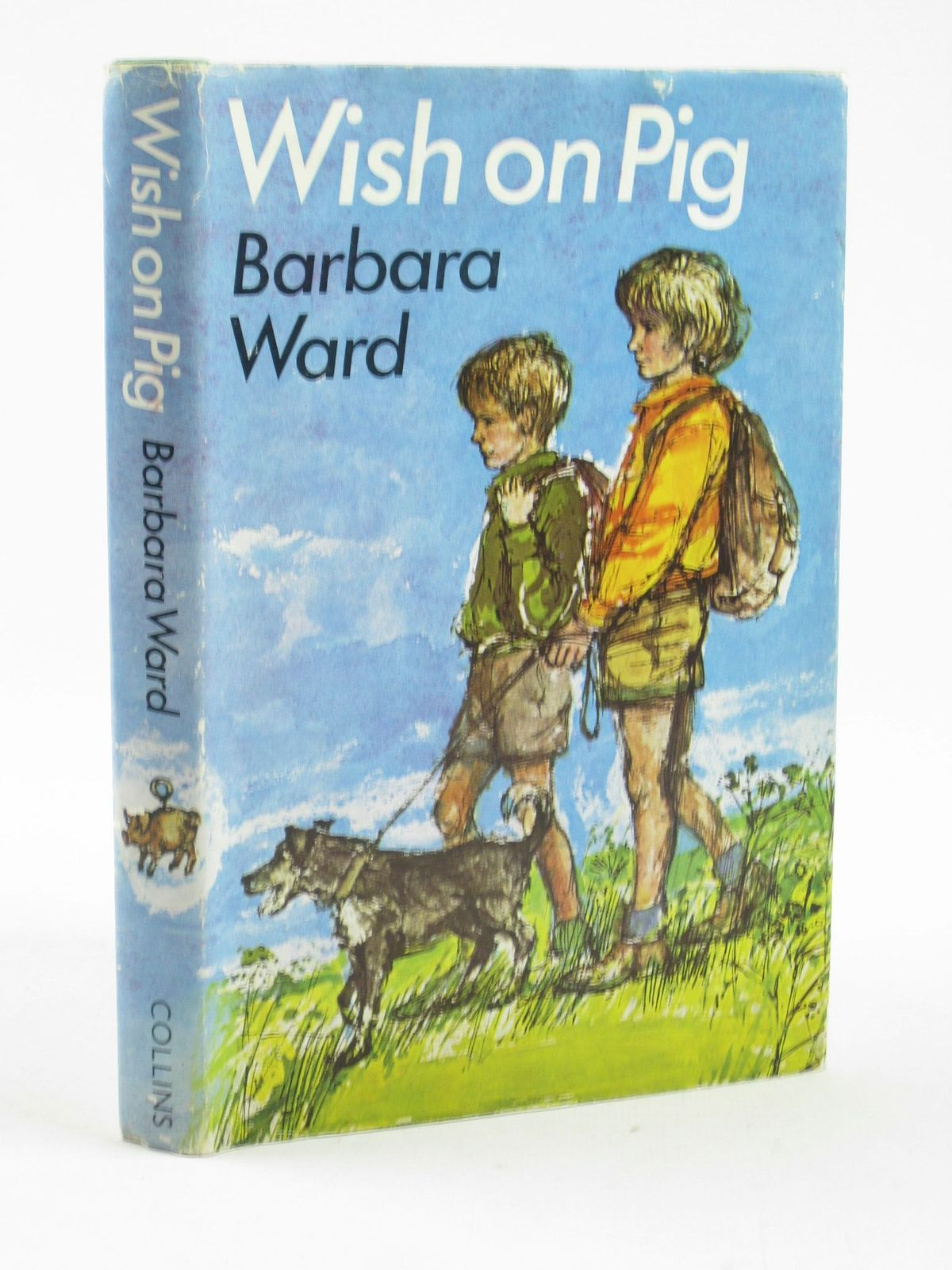 Photo of WISH ON PIG written by Ward, Barbara illustrated by Hughes, Shirley published by Collins (STOCK CODE: 1501915)  for sale by Stella & Rose's Books