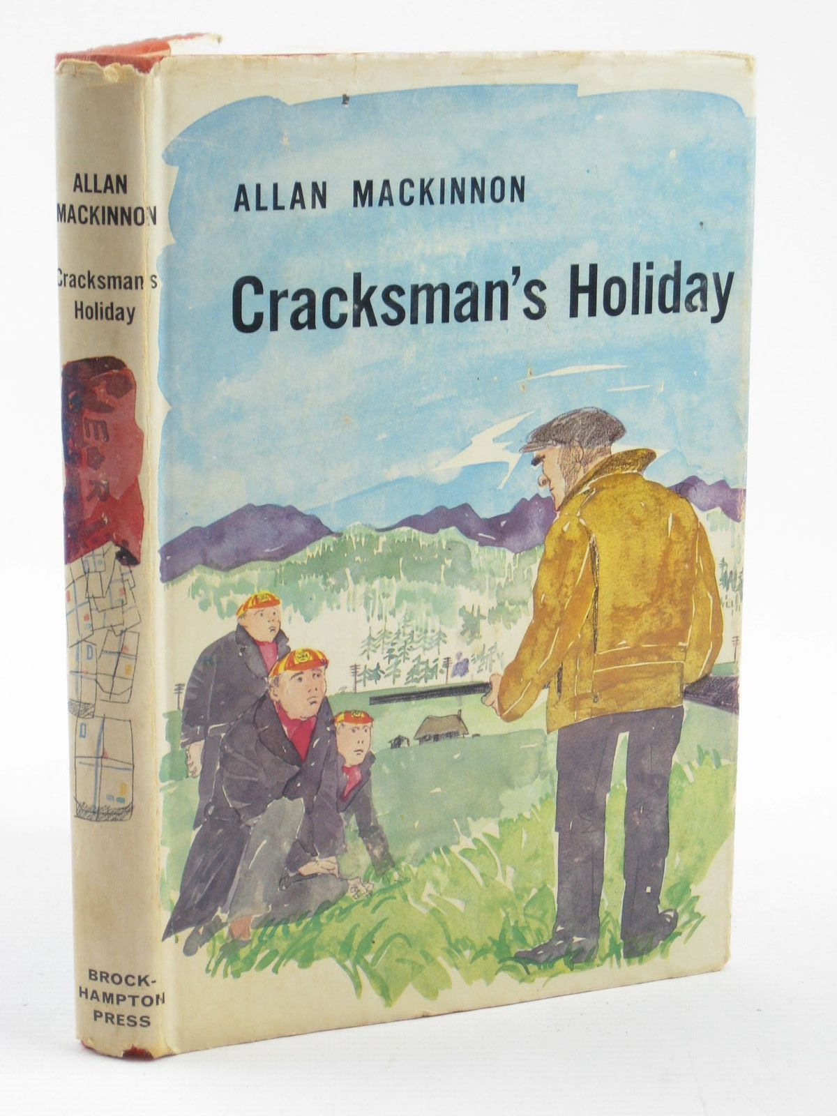 Photo of CRACKMAN'S HOLIDAY written by MacKinnon, Allan illustrated by Hogarth, Paul published by Brockhampton Press (STOCK CODE: 1501962)  for sale by Stella & Rose's Books