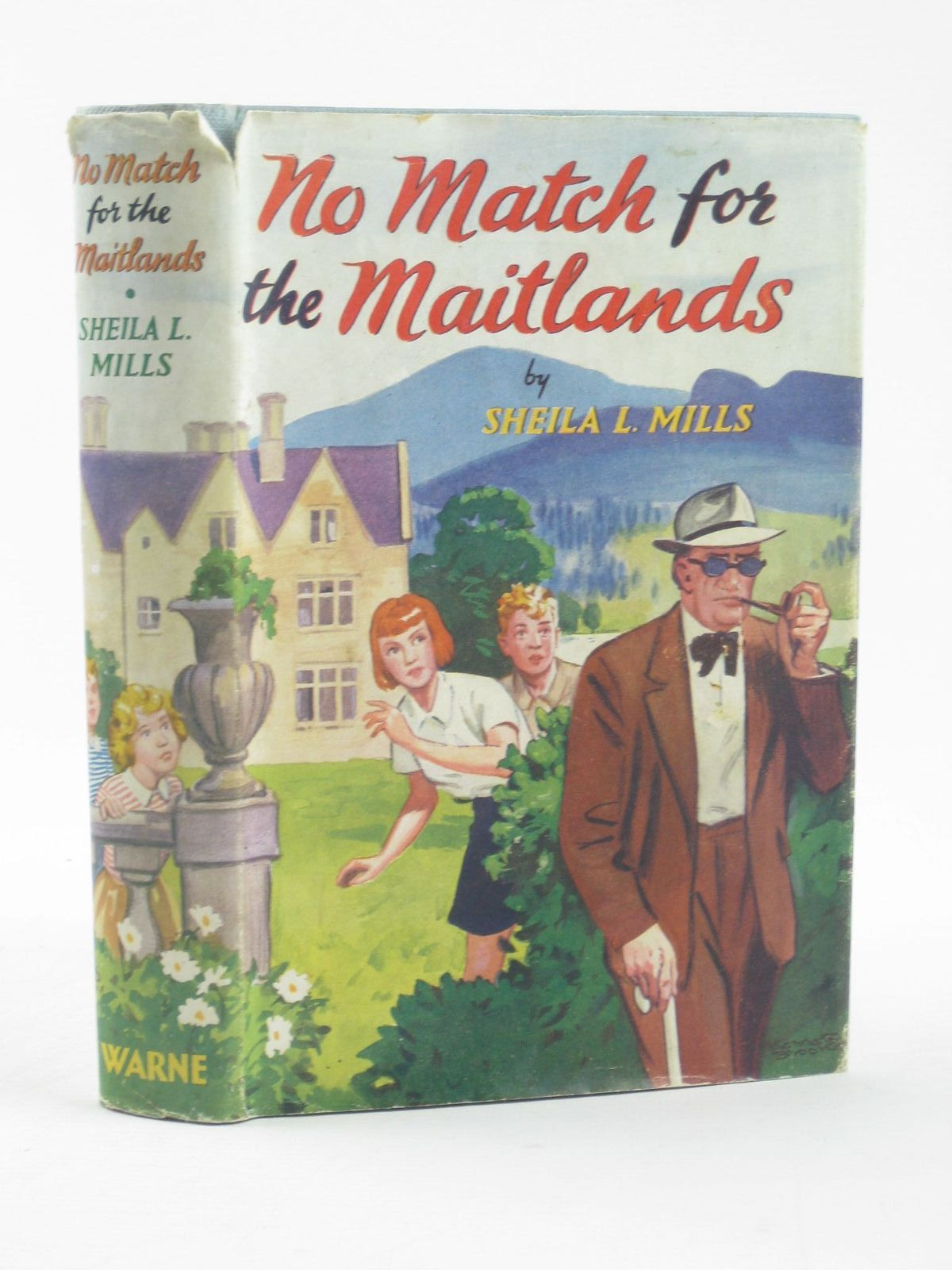 Photo of NO MATCH FOR THE MAITLANDS written by Mills, Sheila L. illustrated by Brookes, Kenneth published by Frederick Warne & Co Ltd. (STOCK CODE: 1501985)  for sale by Stella & Rose's Books