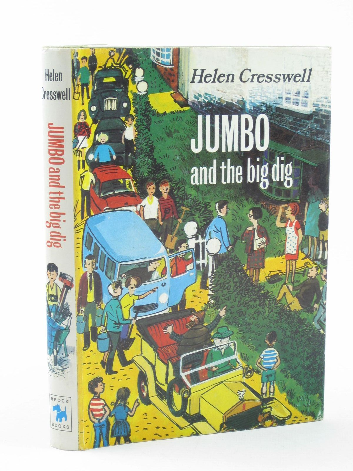Photo of JUMBO AND THE BIG DIG written by Cresswell, Helen illustrated by Wood, Leslie published by Brockhampton Press (STOCK CODE: 1502064)  for sale by Stella & Rose's Books