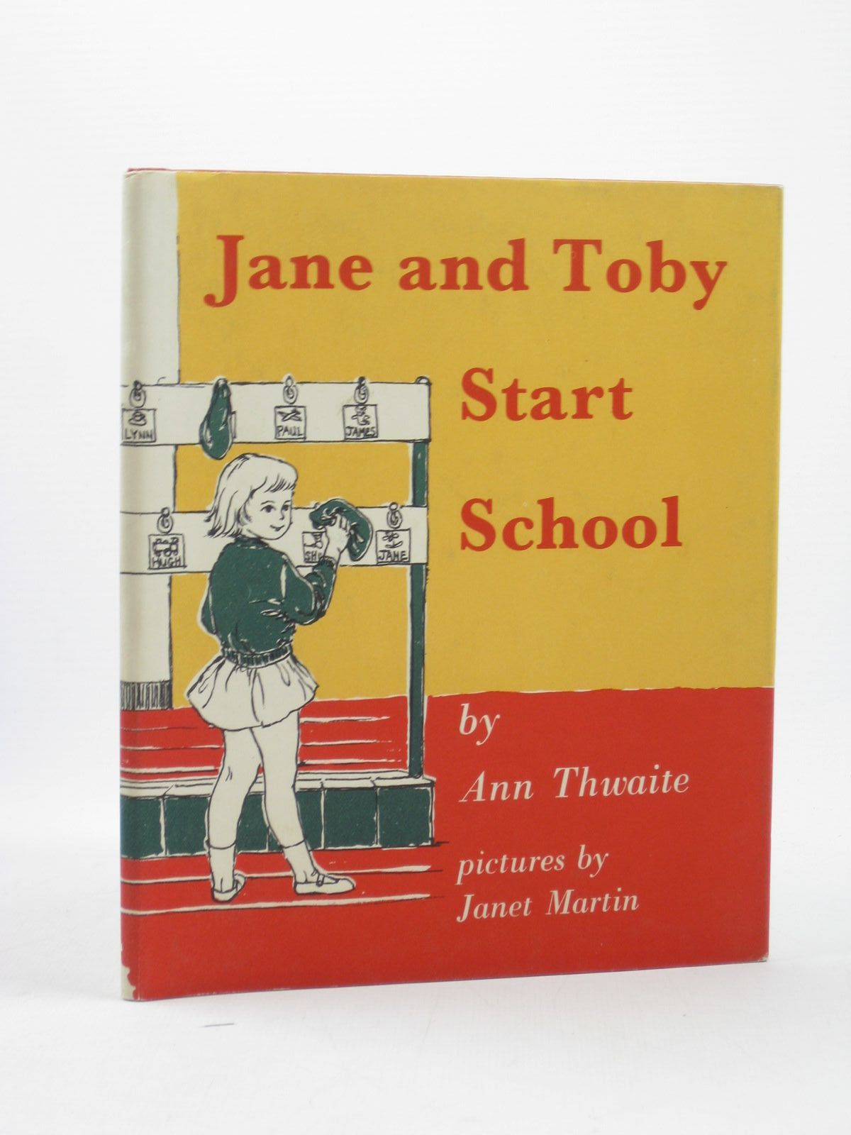 Photo of JANE AND TOBY START SCHOOL written by Thwaite, Ann illustrated by Martin, Janet published by Constable Young Books (STOCK CODE: 1502262)  for sale by Stella & Rose's Books