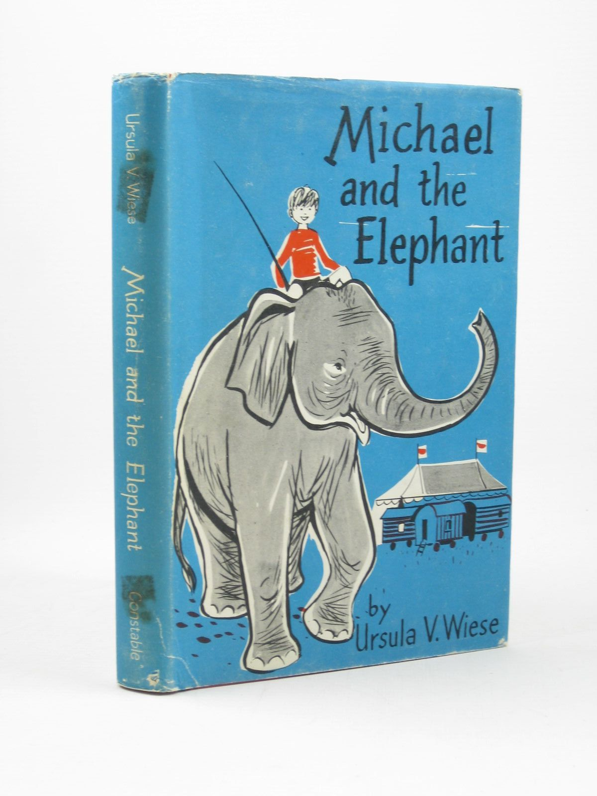Photo of MICHAEL AND THE ELEPHANT written by Von Wiese, Ursula illustrated by Schreiber, Irene published by Constable & Co. Ltd. (STOCK CODE: 1502311)  for sale by Stella & Rose's Books