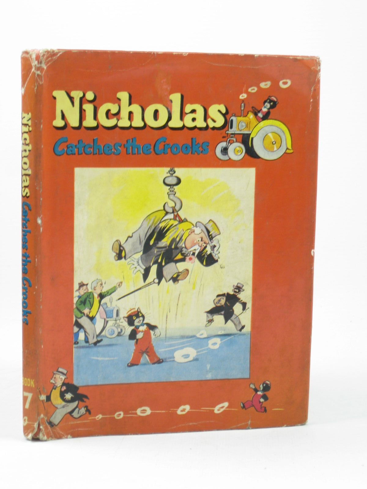 Photo of NICHOLAS CATCHES THE CROOKS written by Styles, Kitty illustrated by Lee, Mary Kendal published by Sampson Low, Marston & Co. Ltd. (STOCK CODE: 1502385)  for sale by Stella & Rose's Books