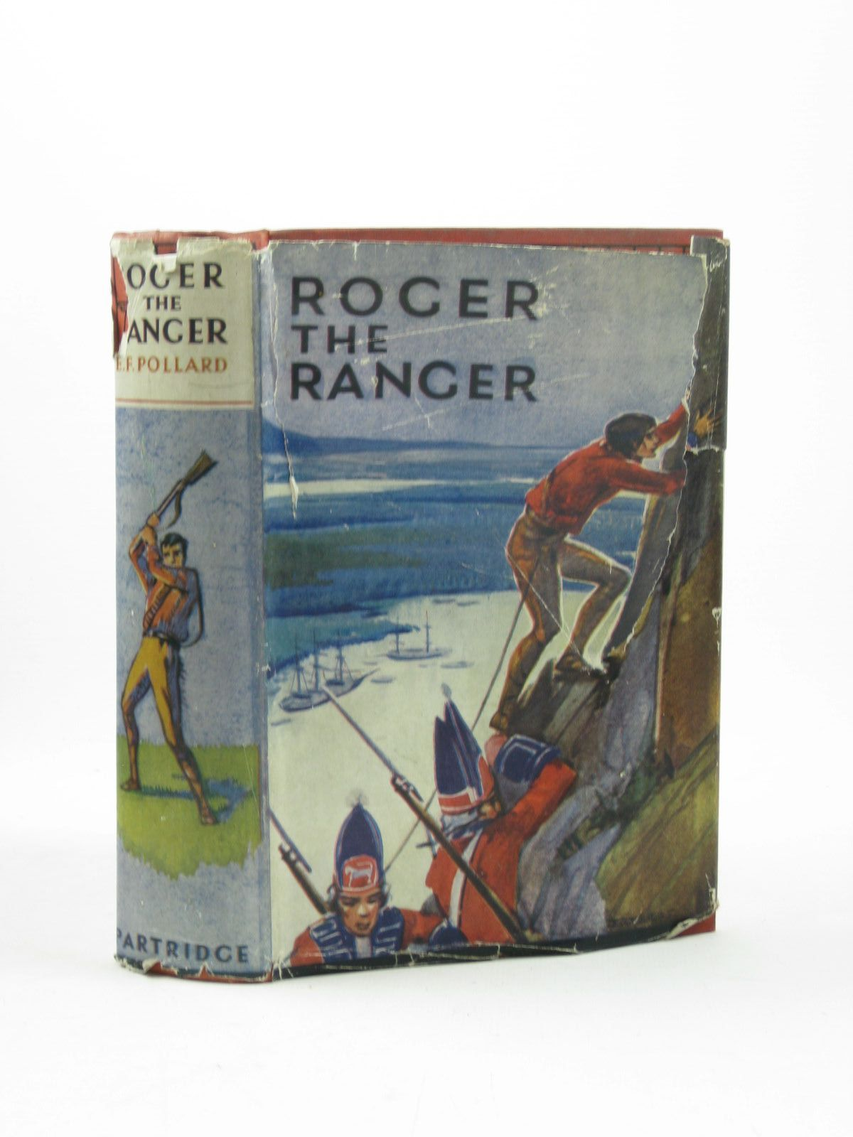 Photo of ROGER THE RANGER written by Pollard, Eliza F. published by Partridge (STOCK CODE: 1502498)  for sale by Stella & Rose's Books
