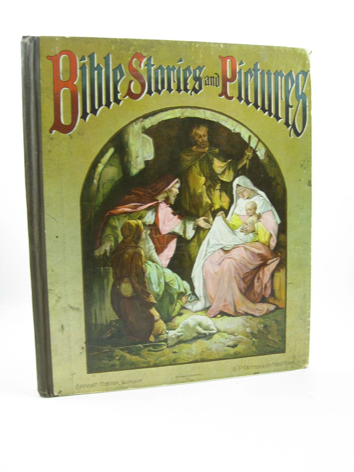 Photo of BIBLE STORIES AND PICTURES published by Ernest Nister (STOCK CODE: 1502583)  for sale by Stella & Rose's Books