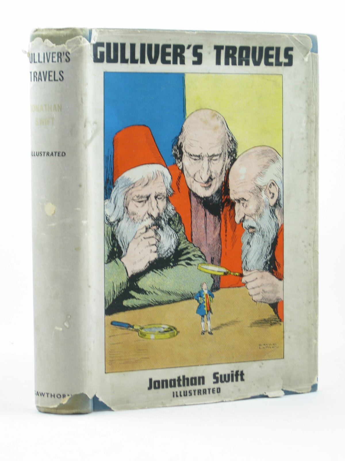 Photo of GULLIVER'S TRAVELS written by Swift, Jonathan illustrated by Lumley, Savile published by P.R. Gawthorn Ltd. (STOCK CODE: 1502634)  for sale by Stella & Rose's Books