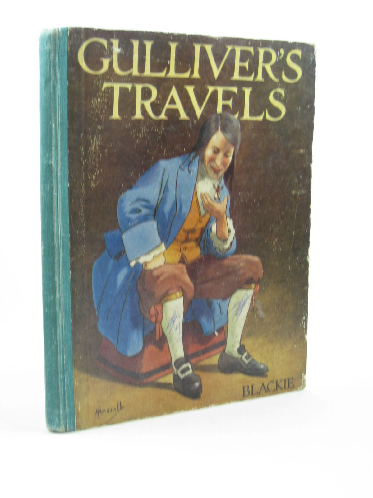 Photo of GULLIVER'S TRAVELS RETOLD FOR LITTLE FOLK written by Swift, Jonathan<br />Herbertson, Agnes Grozier illustrated by Hassall, John published by Blackie & Son Ltd. (STOCK CODE: 1502666)  for sale by Stella & Rose's Books