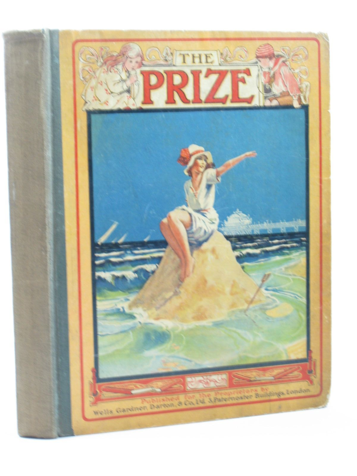 Photo of THE PRIZE FOR GIRLS AND BOYS published by Wells Gardner, Darton & Co. Ltd. (STOCK CODE: 1502681)  for sale by Stella & Rose's Books