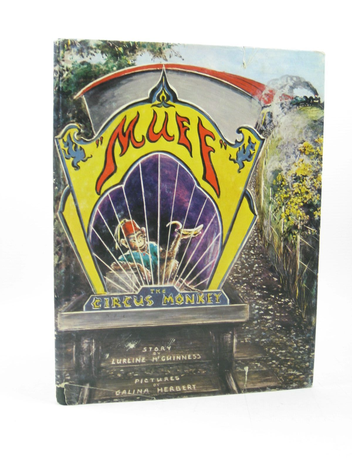 Photo of MUFF THE CIRCUS MONKEY written by McGuinness, Lurline illustrated by Herbert, Galina published by Angus & Robertson Ltd. (STOCK CODE: 1502756)  for sale by Stella & Rose's Books