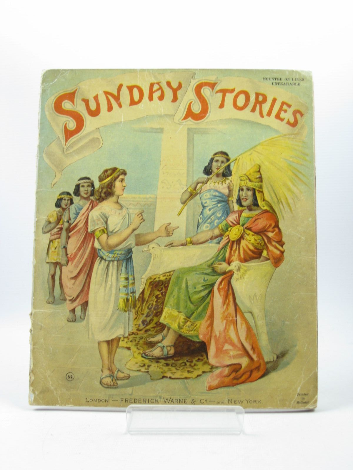 Photo of SUNDAY STORIES illustrated by Stewart, E. published by Frederick Warne & Co. (STOCK CODE: 1502757)  for sale by Stella & Rose's Books