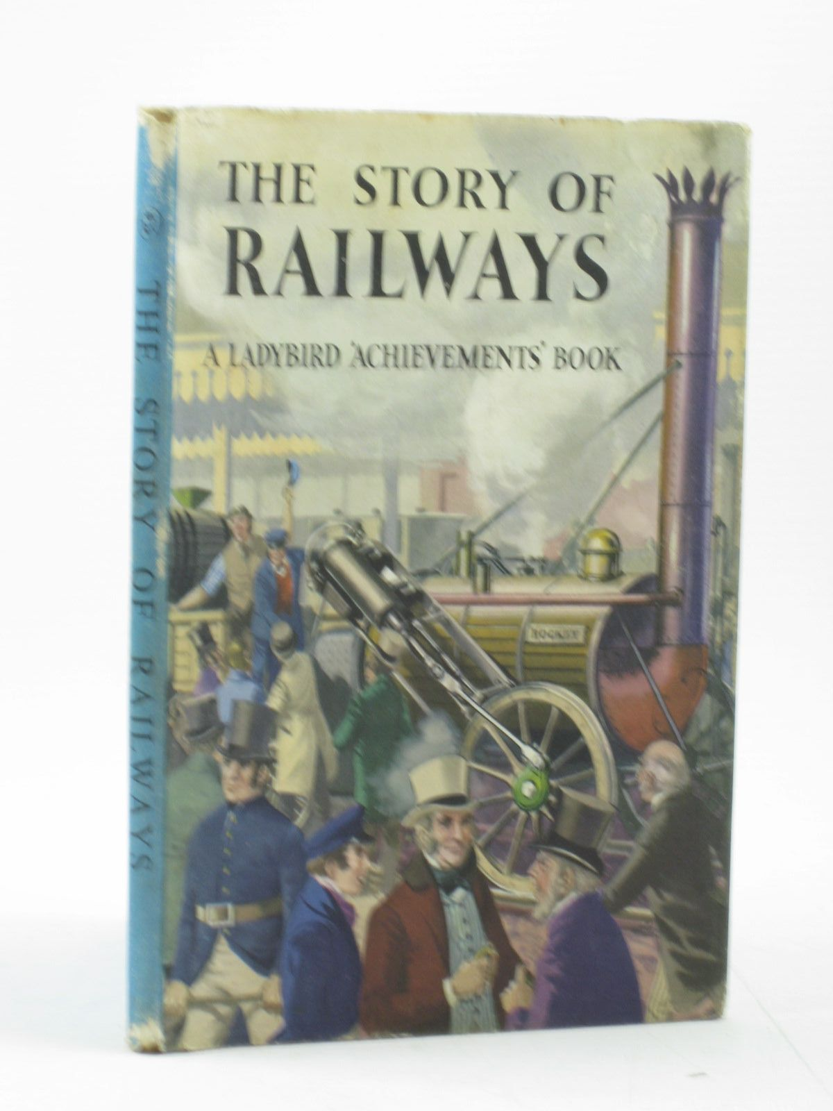 Photo of THE STORY OF RAILWAYS written by Bowood, Richard illustrated by Ayton, Robert published by Wills & Hepworth Ltd. (STOCK CODE: 1502791)  for sale by Stella & Rose's Books