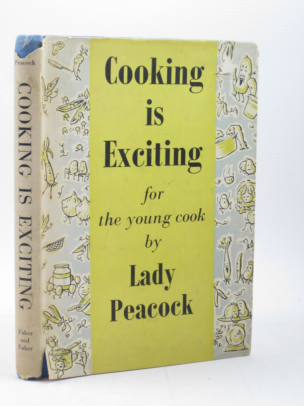 Photo of COOKING IS EXCITING written by Peacock, Lady illustrated by Gooderson, D.Y. published by Faber & Faber Limited (STOCK CODE: 1502813)  for sale by Stella & Rose's Books