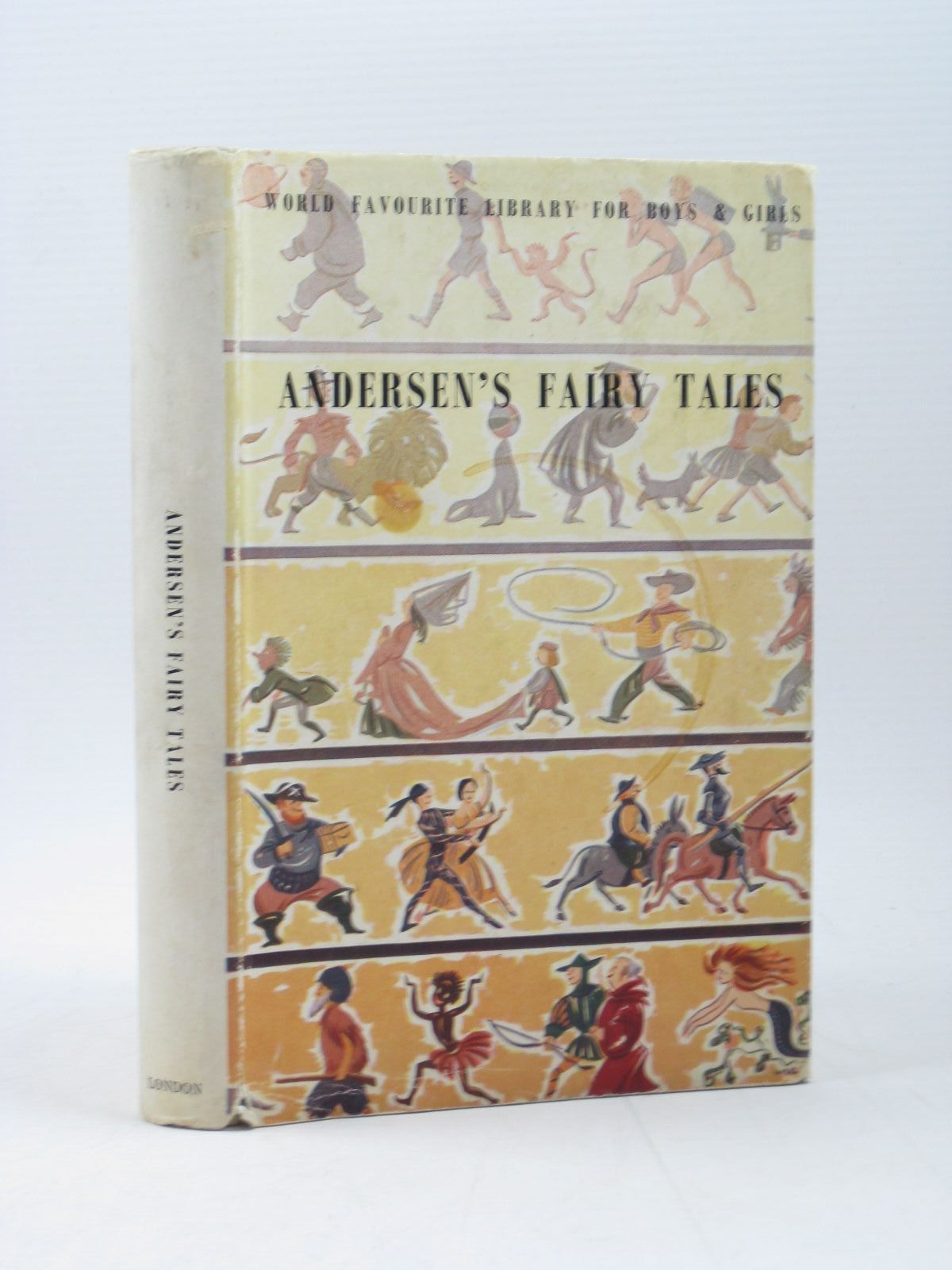Photo of HANS ANDERSEN'S FAIRY TALES written by Andersen, Hans Christian illustrated by Brock, H.M. published by Peter Lunn Ltd. (STOCK CODE: 1502852)  for sale by Stella & Rose's Books