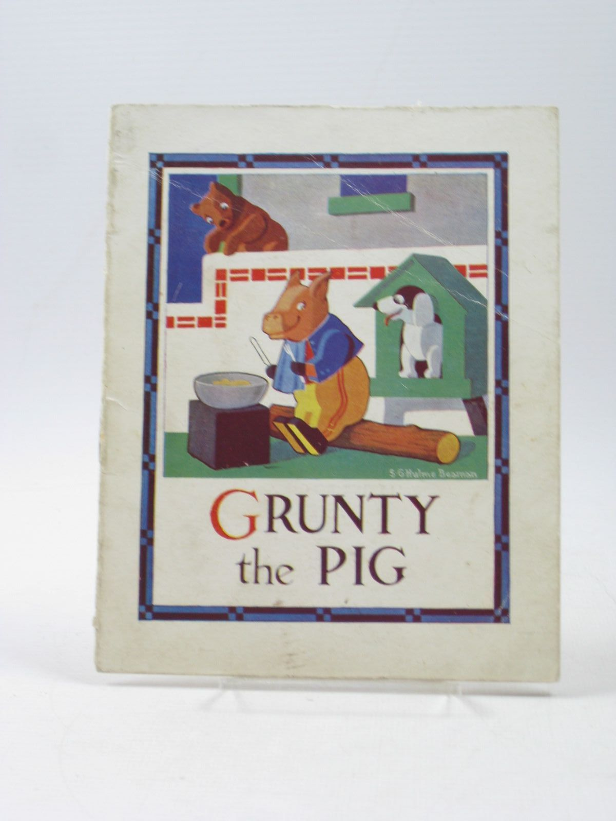 Photo of GRUNTY THE PIG written by Beaman, S.G. Hulme illustrated by Beaman, S.G. Hulme published by Frederick Warne & Co Ltd. (STOCK CODE: 1502893)  for sale by Stella & Rose's Books