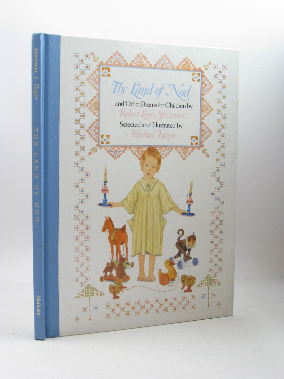 Photo of THE LAND OF NOD AND OTHER POEMS FOR CHILDREN written by Stevenson, Robert Louis illustrated by Hague, Michael published by Methuen Children's Books (STOCK CODE: 1502963)  for sale by Stella & Rose's Books