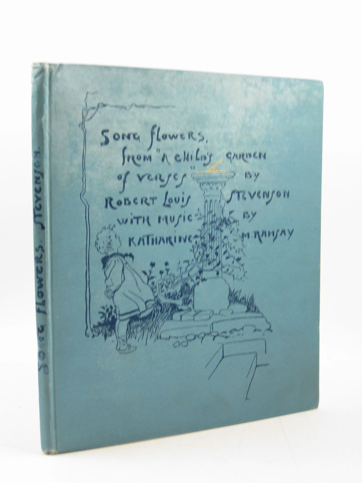 Photo of SONG FLOWERS FROM A CHILD'S GARDEN OF VERSES written by Stevenson, Robert Louis<br />Ramsay, Katharine M. illustrated by Browne, Gordon published by Gardner, Darton & Co. (STOCK CODE: 1503034)  for sale by Stella & Rose's Books