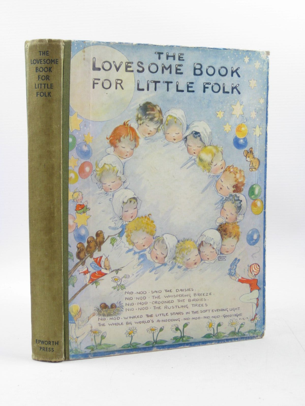 Photo of THE LOVESOME BOOK FOR LITTLE FOLK written by Temple, Chris G.<br />Gould, Elizabeth<br />et al, illustrated by Temple, Chris<br />Longson, P.B.<br />Harries, Edith<br />et al., published by The Epworth Press (STOCK CODE: 1503053)  for sale by Stella & Rose's Books