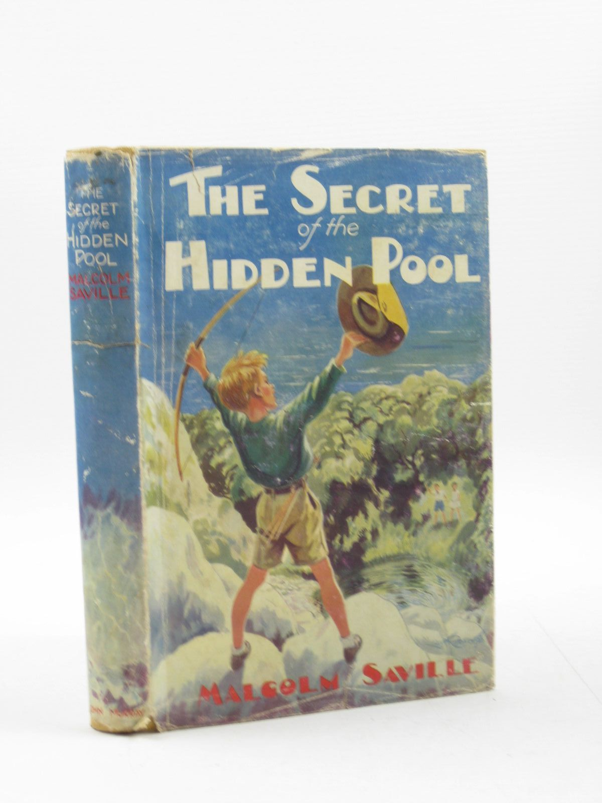 Photo of THE SECRET OF THE HIDDEN POOL written by Saville, Malcolm illustrated by Roberts, Lunt published by John Murray (STOCK CODE: 1503111)  for sale by Stella & Rose's Books