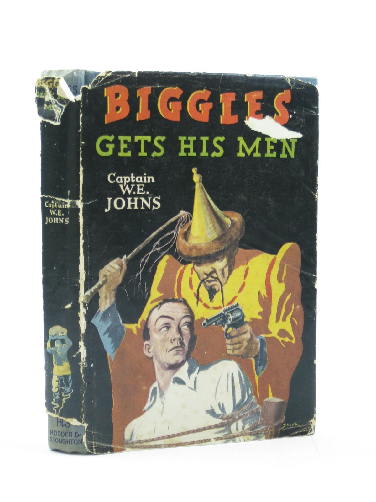 Photo of BIGGLES GETS HIS MEN written by Johns, W.E. illustrated by Stead,  published by Hodder & Stoughton (STOCK CODE: 1503395)  for sale by Stella & Rose's Books