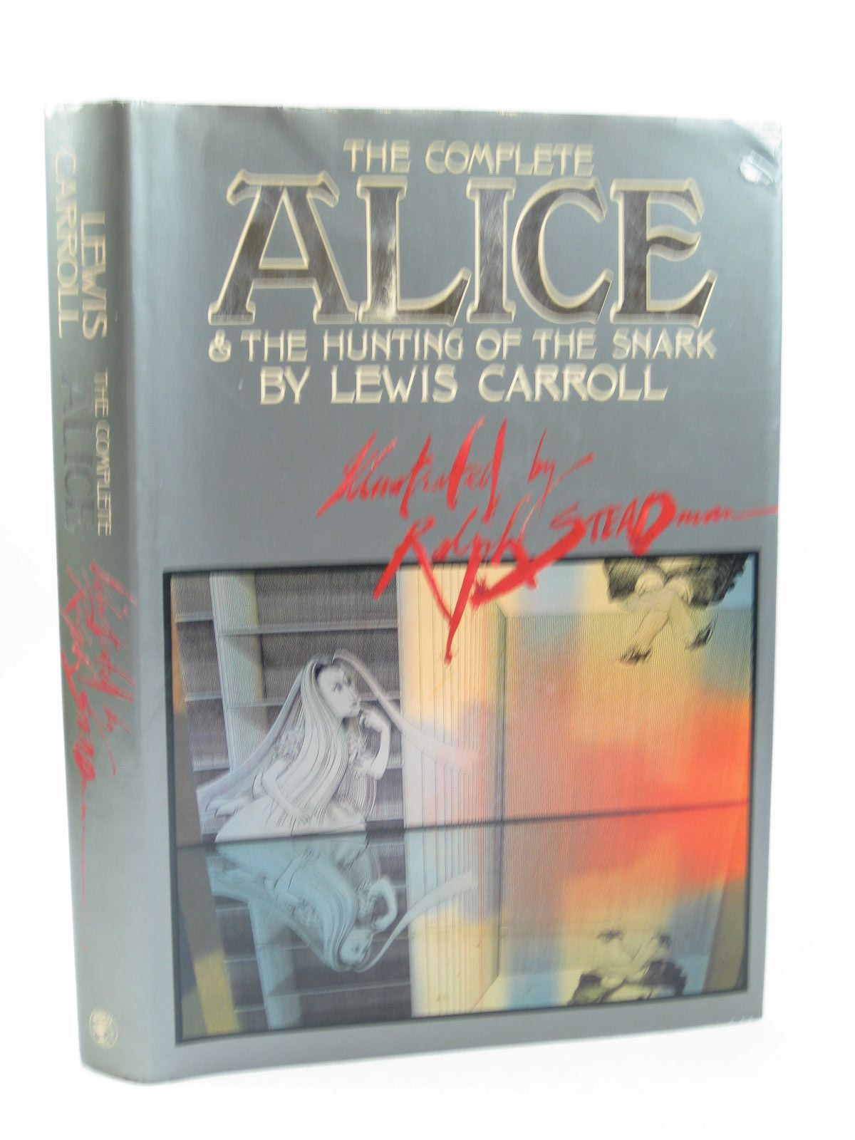 Photo of THE COMPLETE ALICE & THE HUNTING OF THE SNARK written by Carroll, Lewis illustrated by Steadman, Ralph published by Jonathan Cape (STOCK CODE: 1503485)  for sale by Stella & Rose's Books