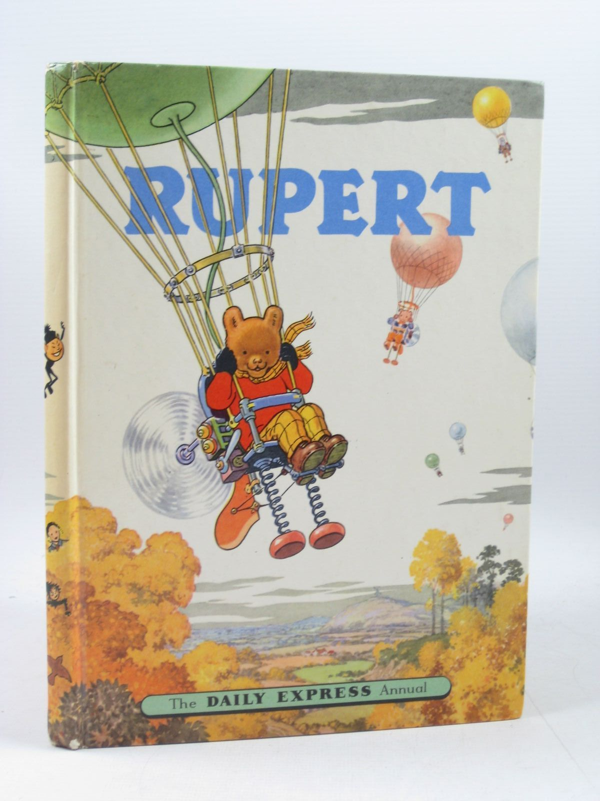 Photo of RUPERT ANNUAL 1957 written by Bestall, Alfred illustrated by Bestall, Alfred published by Daily Express (STOCK CODE: 1503517)  for sale by Stella & Rose's Books