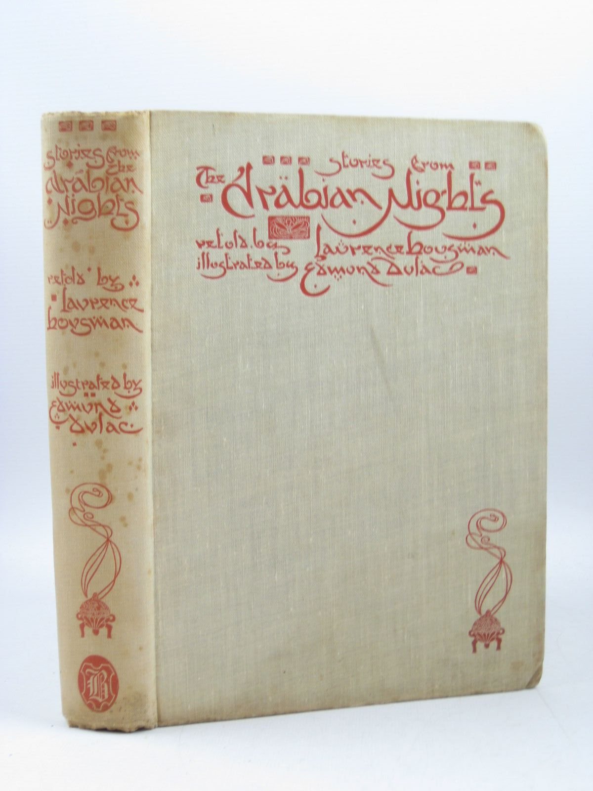 Photo of STORIES FROM THE ARABIAN NIGHTS written by Housman, Laurence illustrated by Dulac, Edmund published by Hodder & Stoughton (STOCK CODE: 1503525)  for sale by Stella & Rose's Books