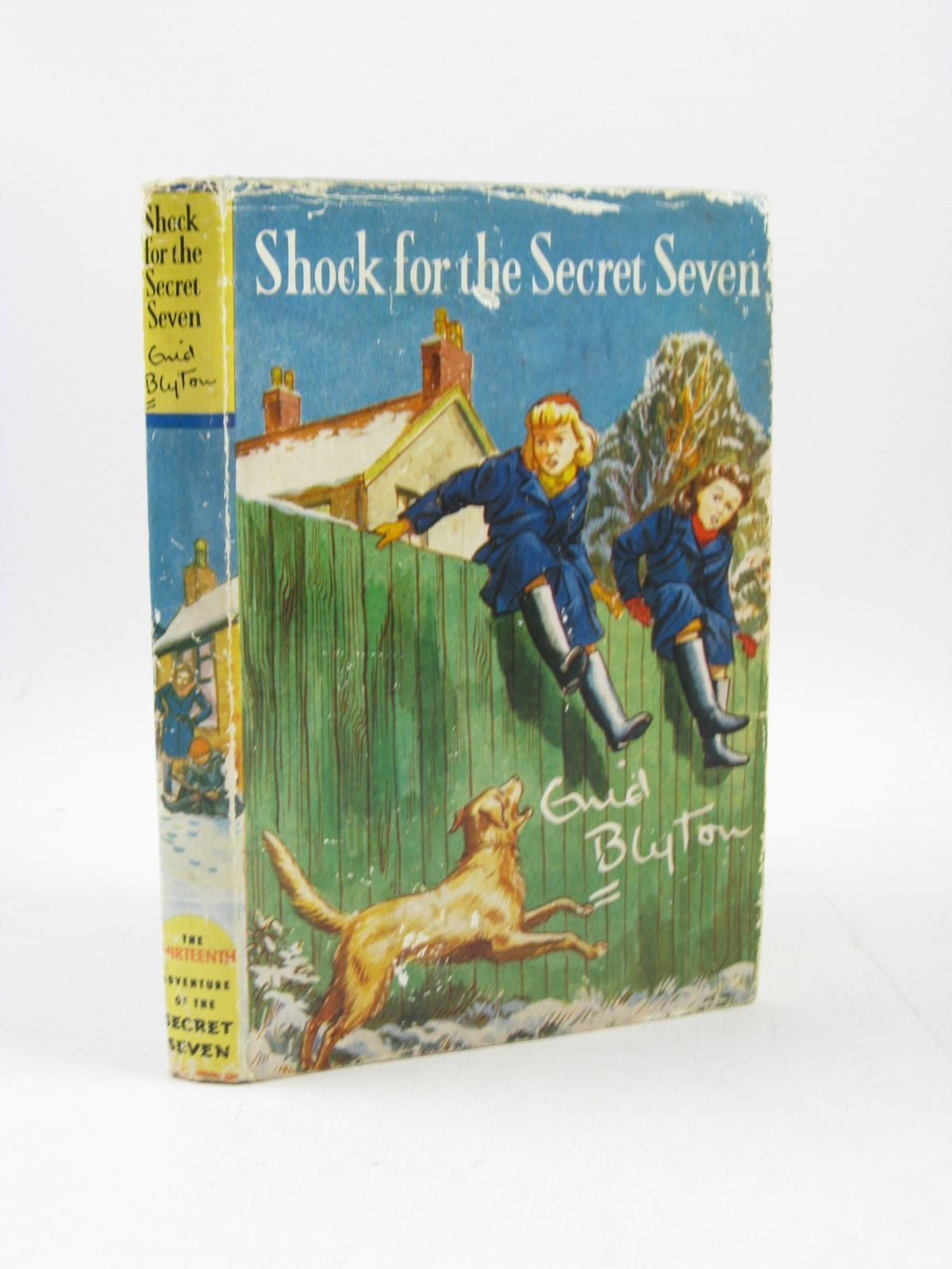 Photo of SHOCK FOR THE SECRET SEVEN written by Blyton, Enid illustrated by Sharrocks, Burgess published by Brockhampton Press (STOCK CODE: 1503529)  for sale by Stella & Rose's Books