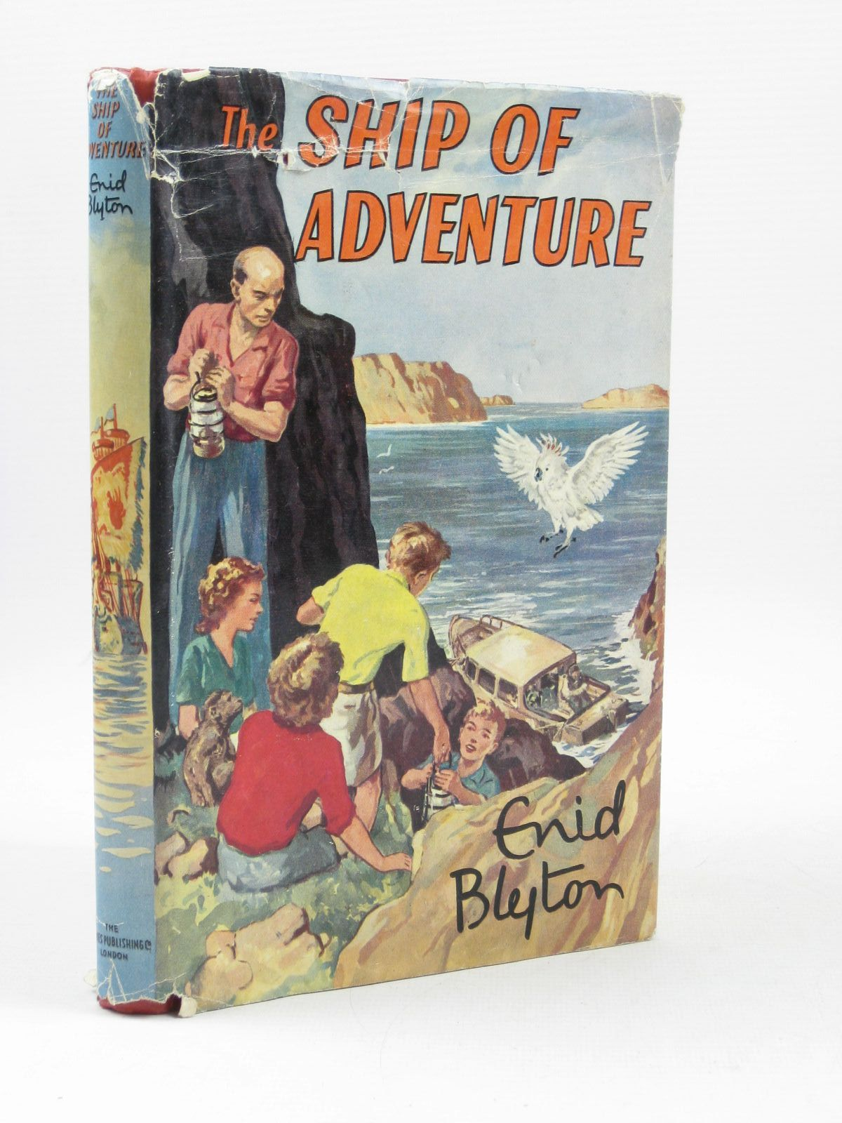 Photo of THE SHIP OF ADVENTURE written by Blyton, Enid illustrated by Tresilian, Stuart published by The Thames Publishing Co. (STOCK CODE: 1503568)  for sale by Stella & Rose's Books