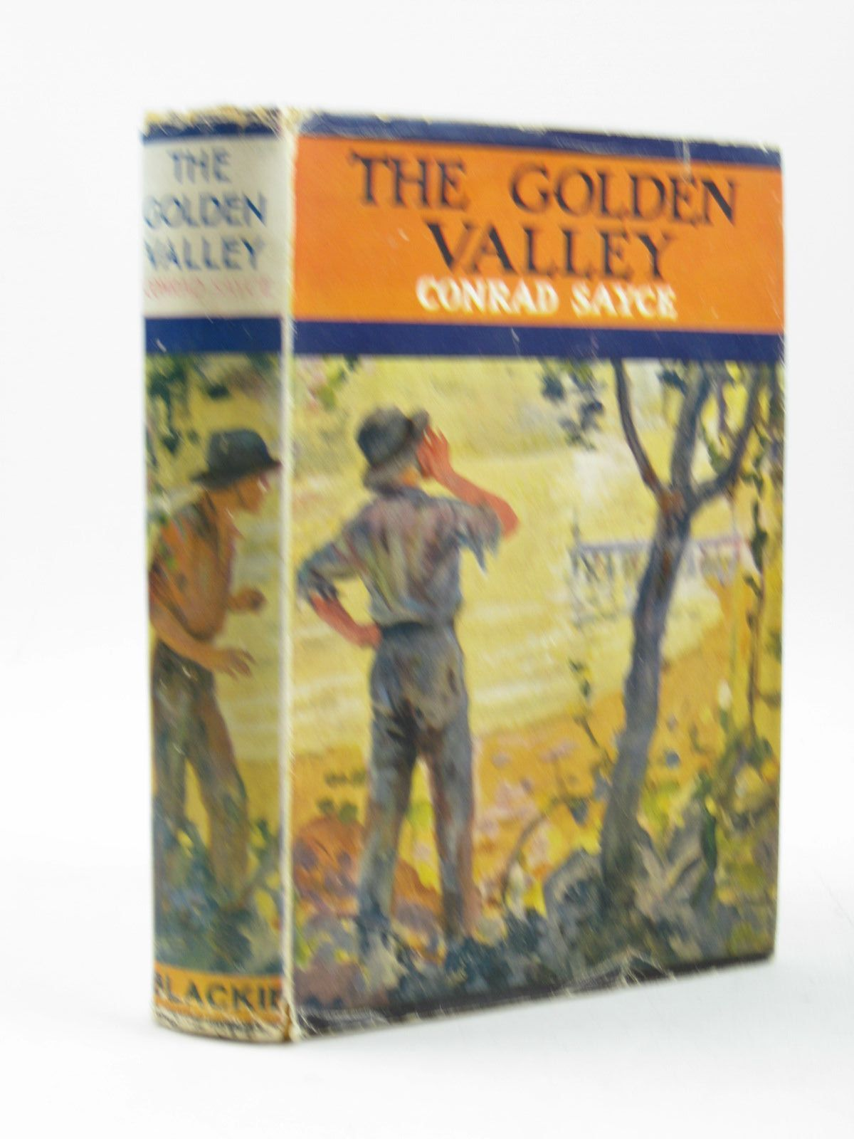 Photo of THE GOLDEN VALLEY written by Bushman, Jim<br />Sayce, Conrad H. illustrated by Coller, H. published by Blackie & Son Ltd. (STOCK CODE: 1503644)  for sale by Stella & Rose's Books