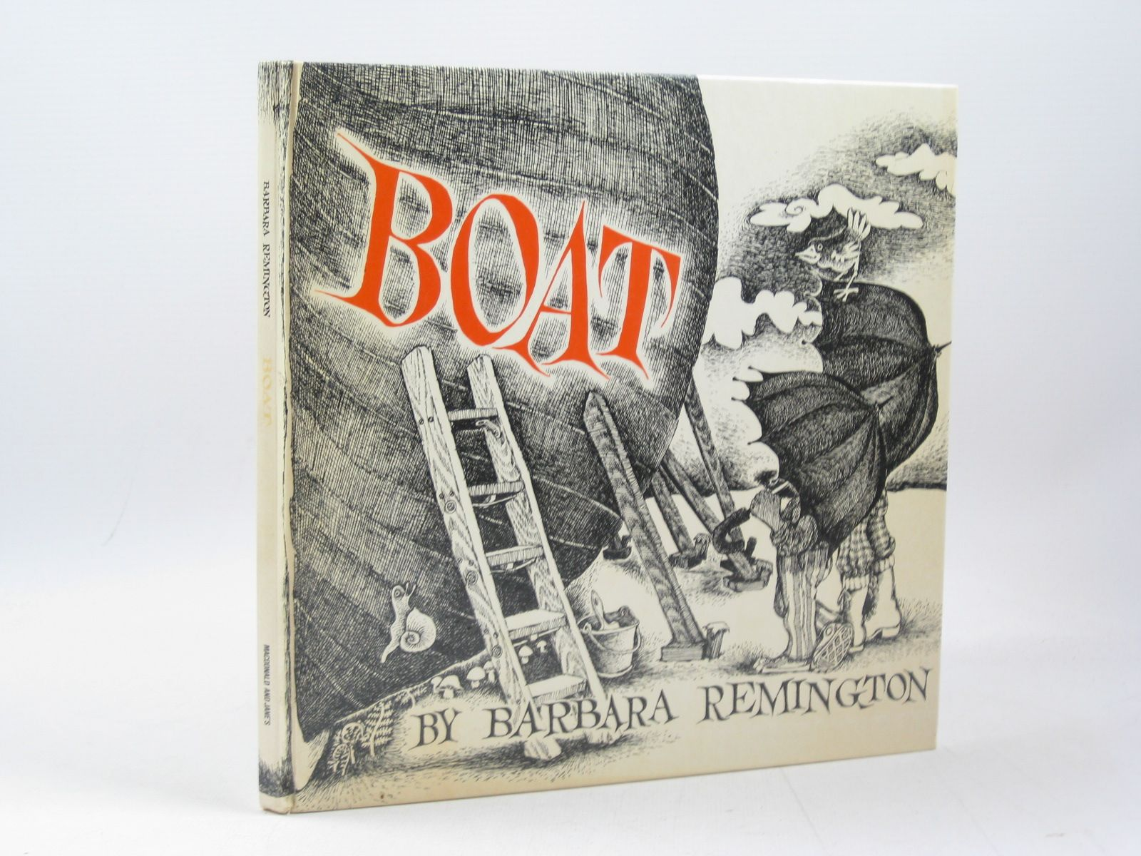 Photo of BOAT written by Remington, Barbara illustrated by Remington, Barbara published by Macdonald and Jane's (STOCK CODE: 1503650)  for sale by Stella & Rose's Books